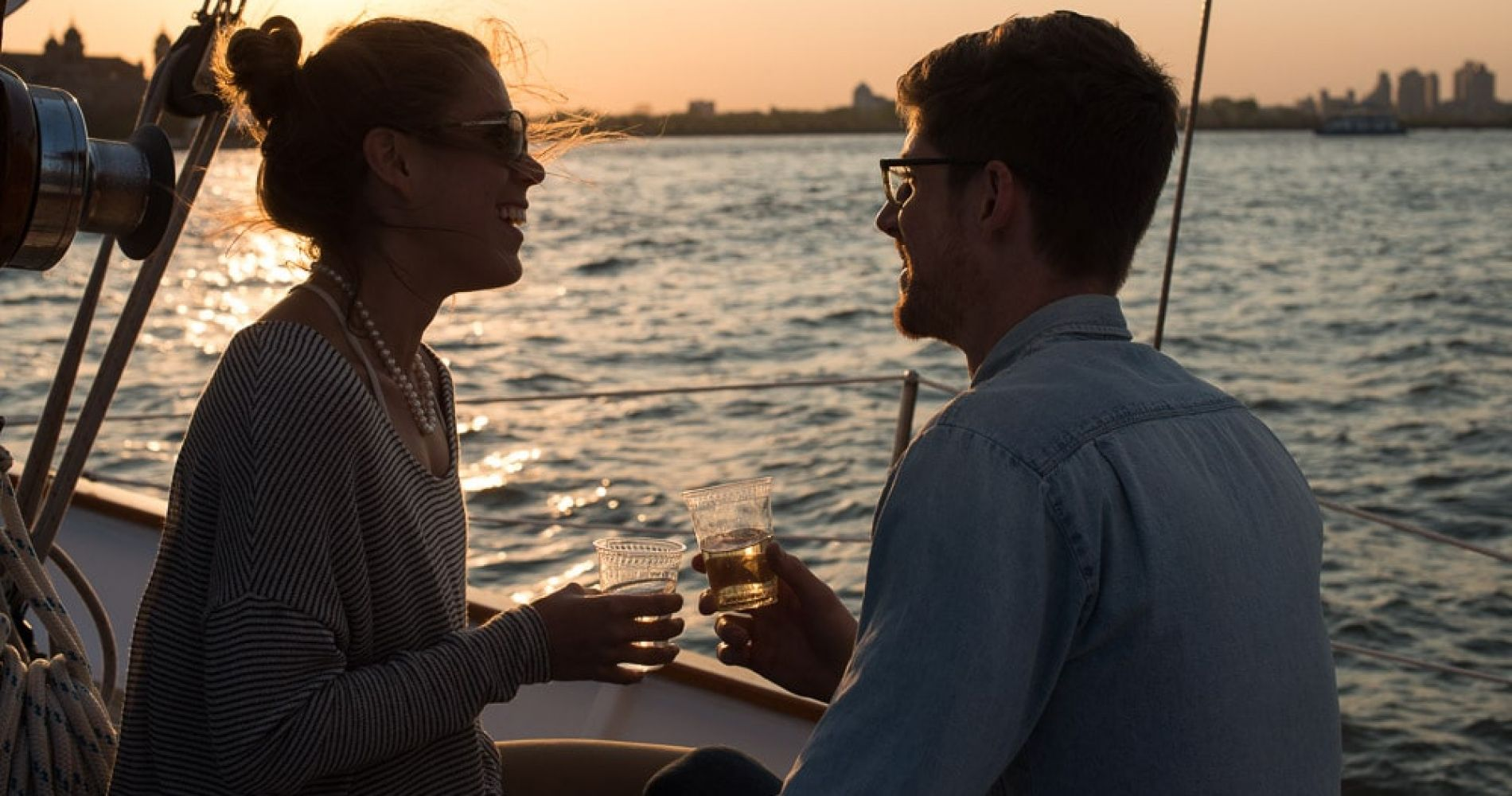 Sunset Sailing in New York for Two