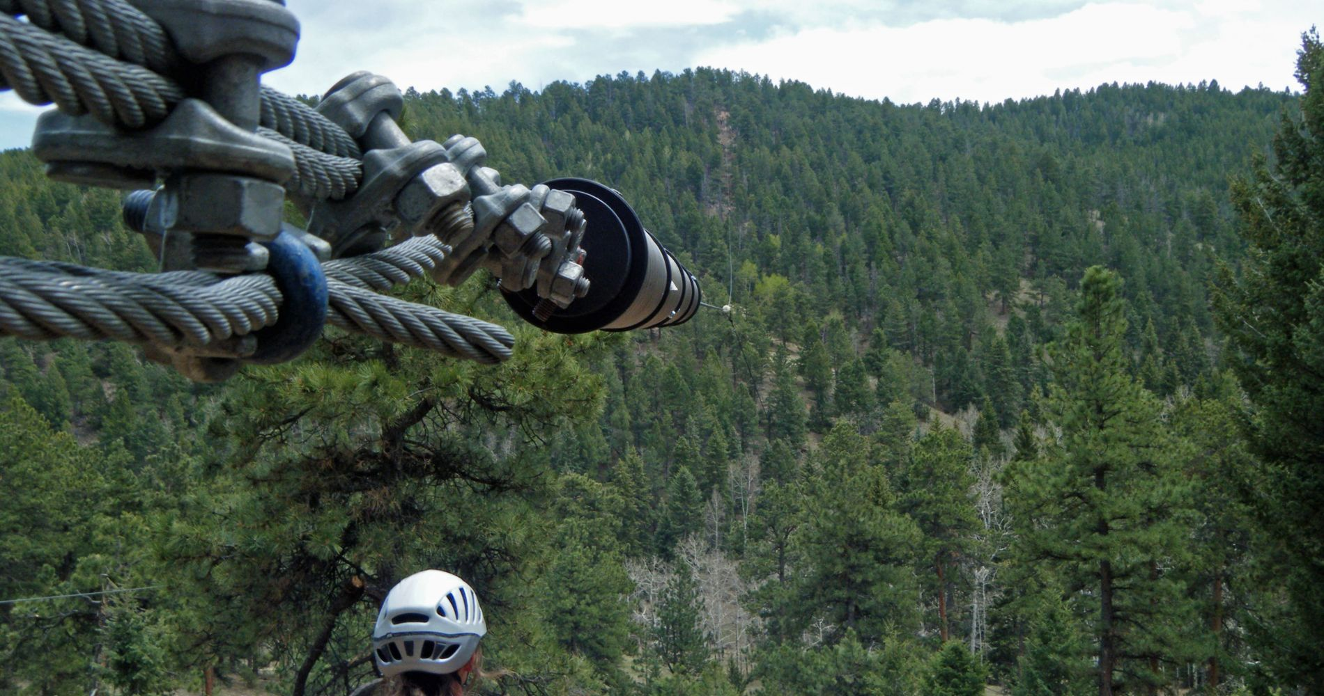 The Rocky Mountain Zipline Adventure in Denver for Two