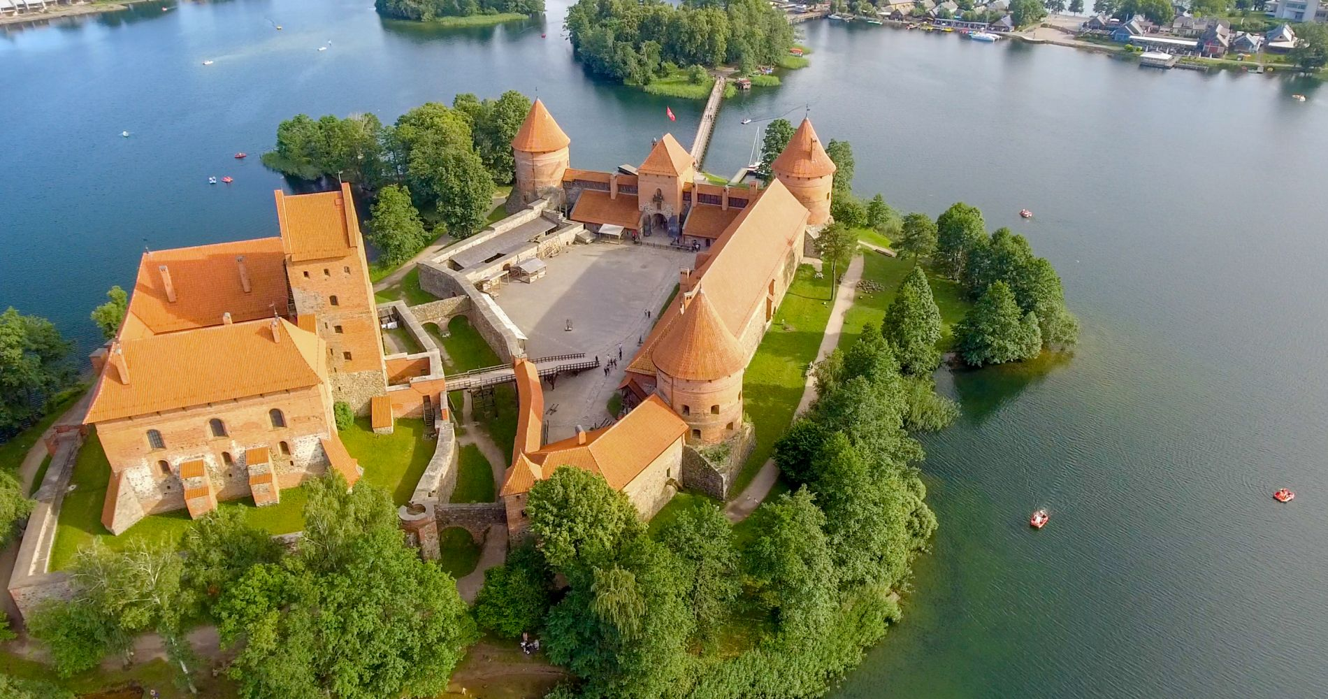 Spectacular Flight Over Trakai Castle In Lithuania for Two