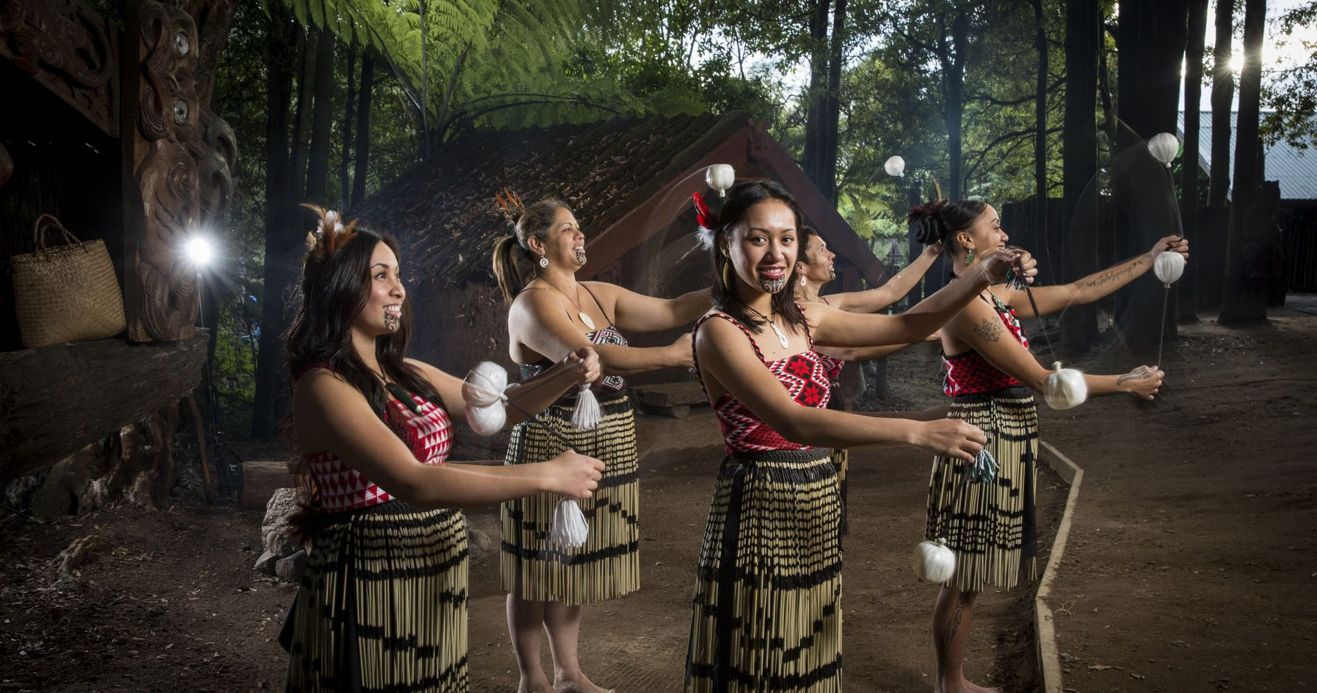 Maori Village New Zealand Tinggly Experience Gifts