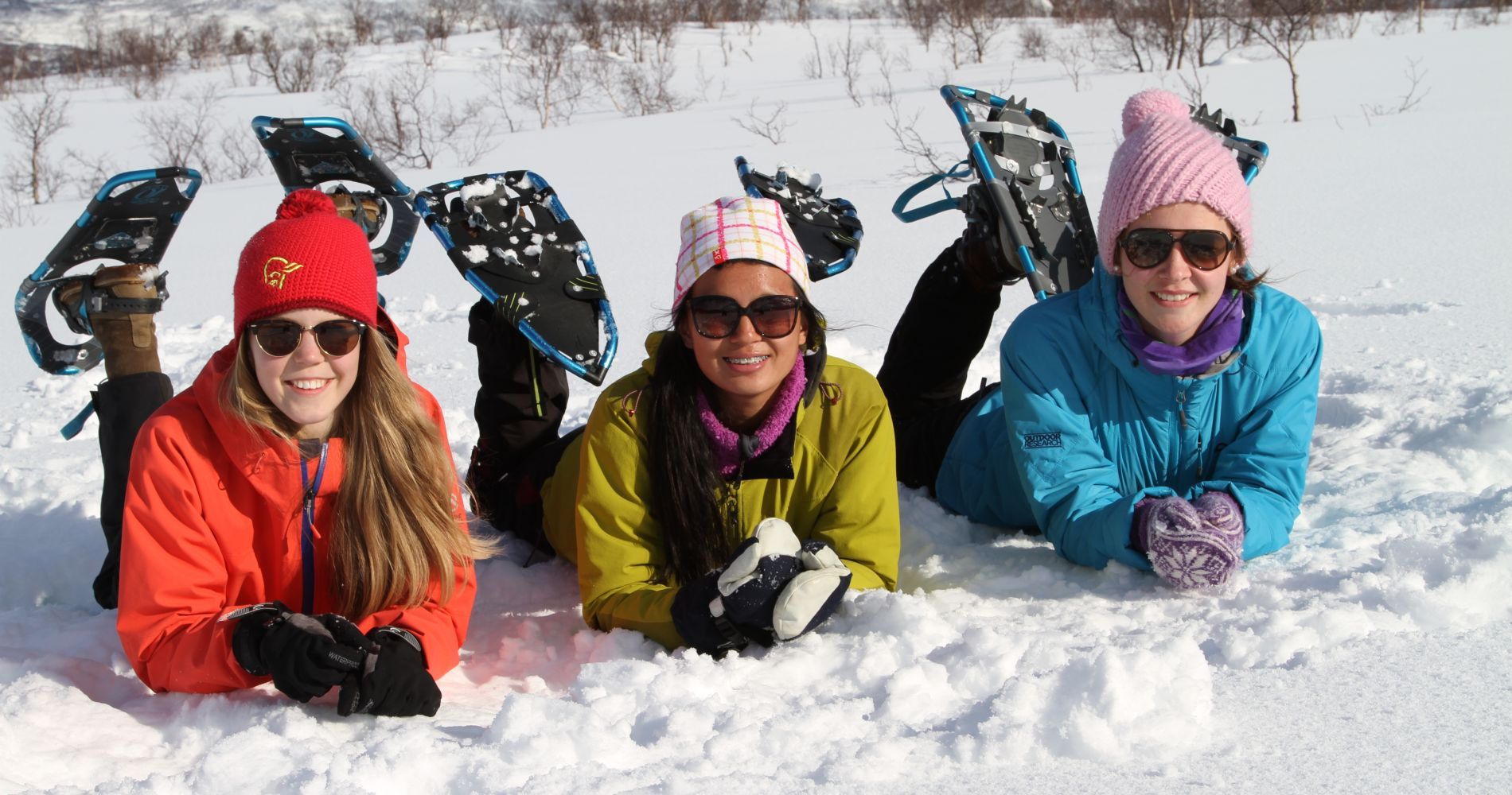 Marvelous Snowshoeing in Norway Tinggly Experience Gifts