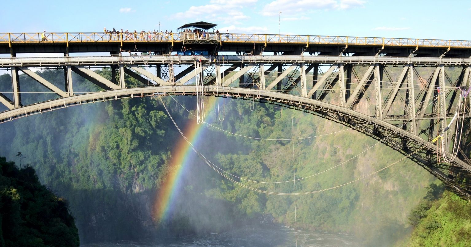 Thrilling Bungee Jumping Victoria Falls Tinggly Experience Gifts