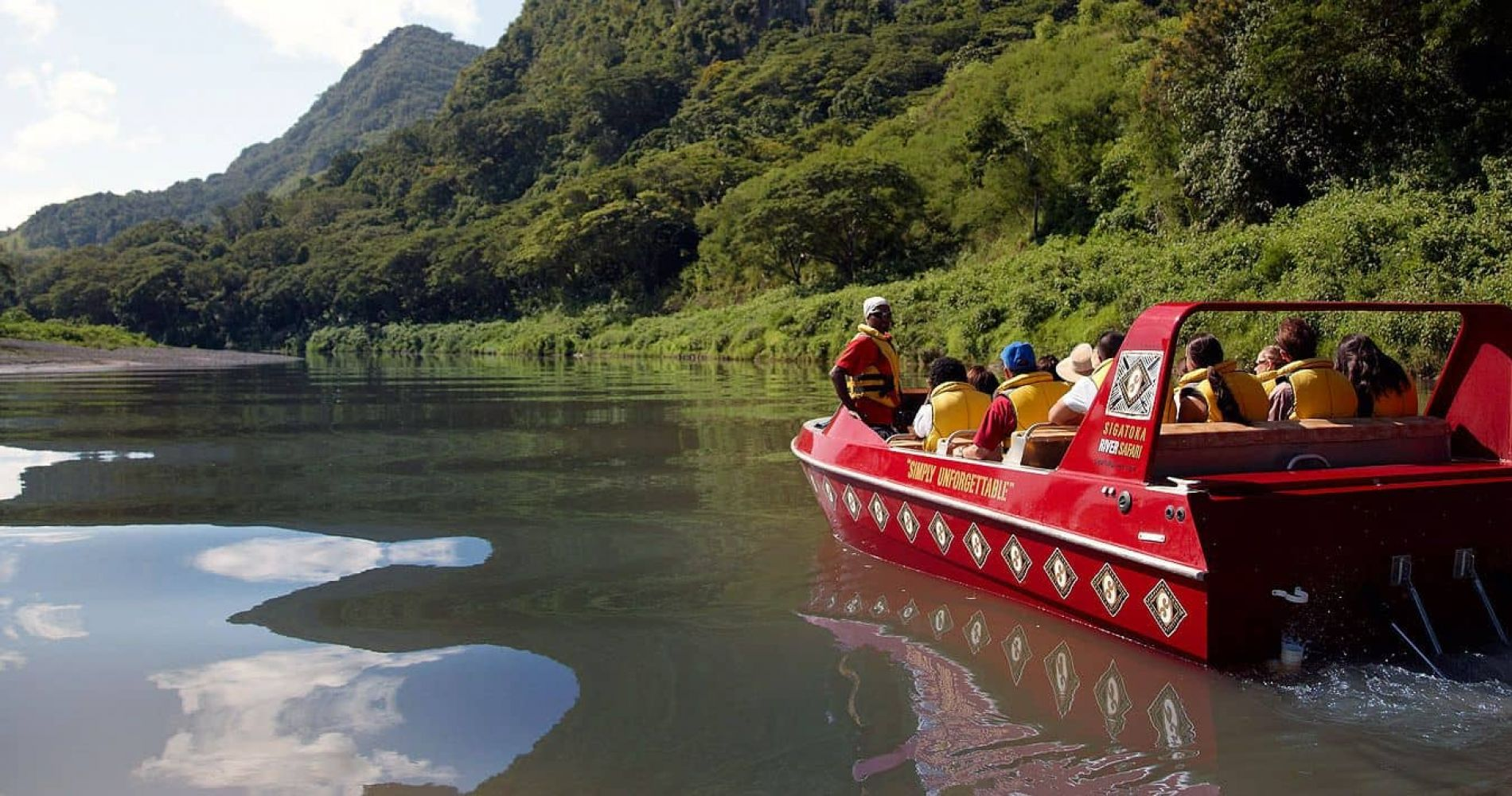 Unique Sigatoka River Jet Boat Safari in Fiji Islands for Two