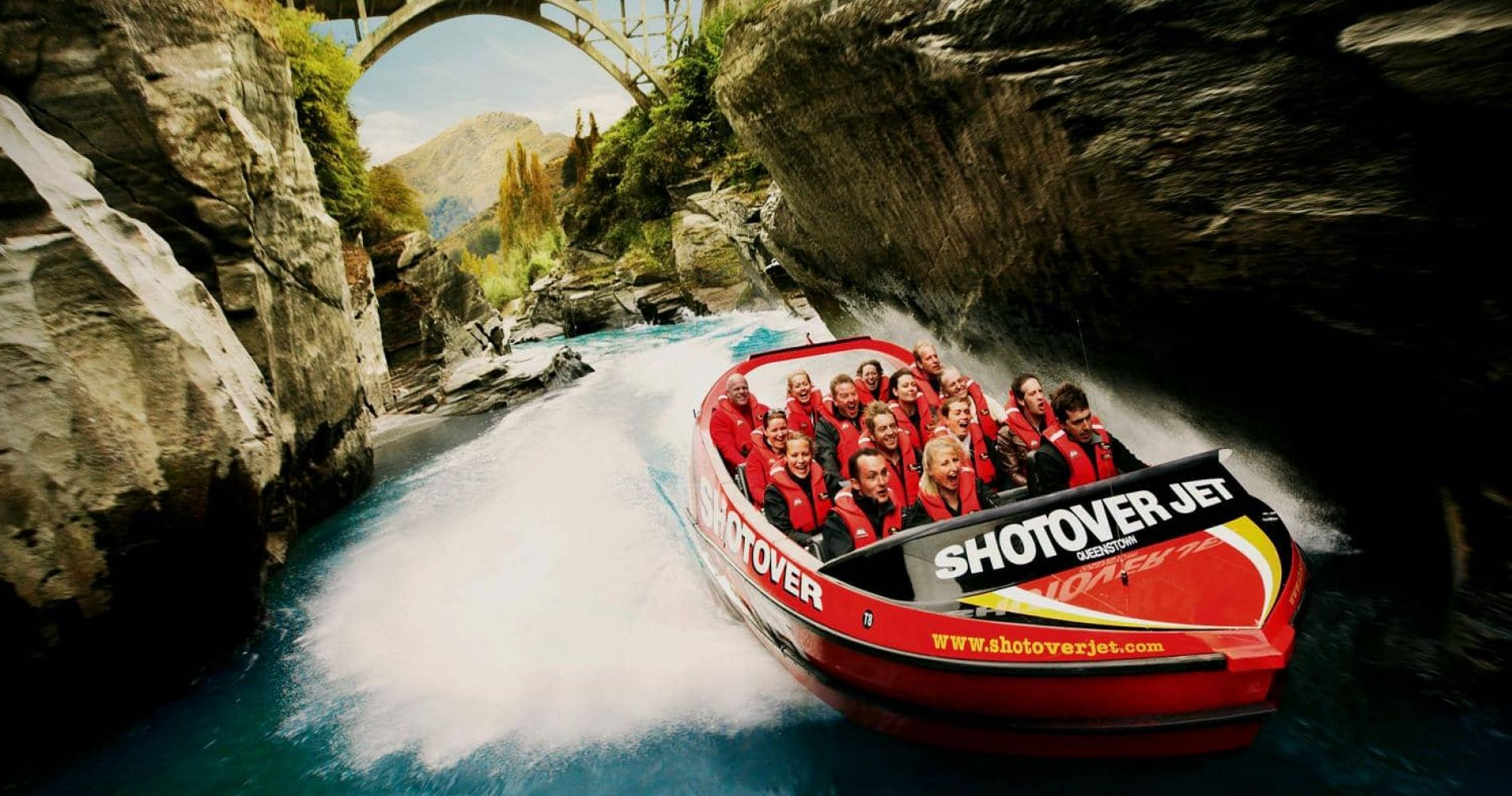 Jet Boat Experience for Two on Shotover River in New Zealand