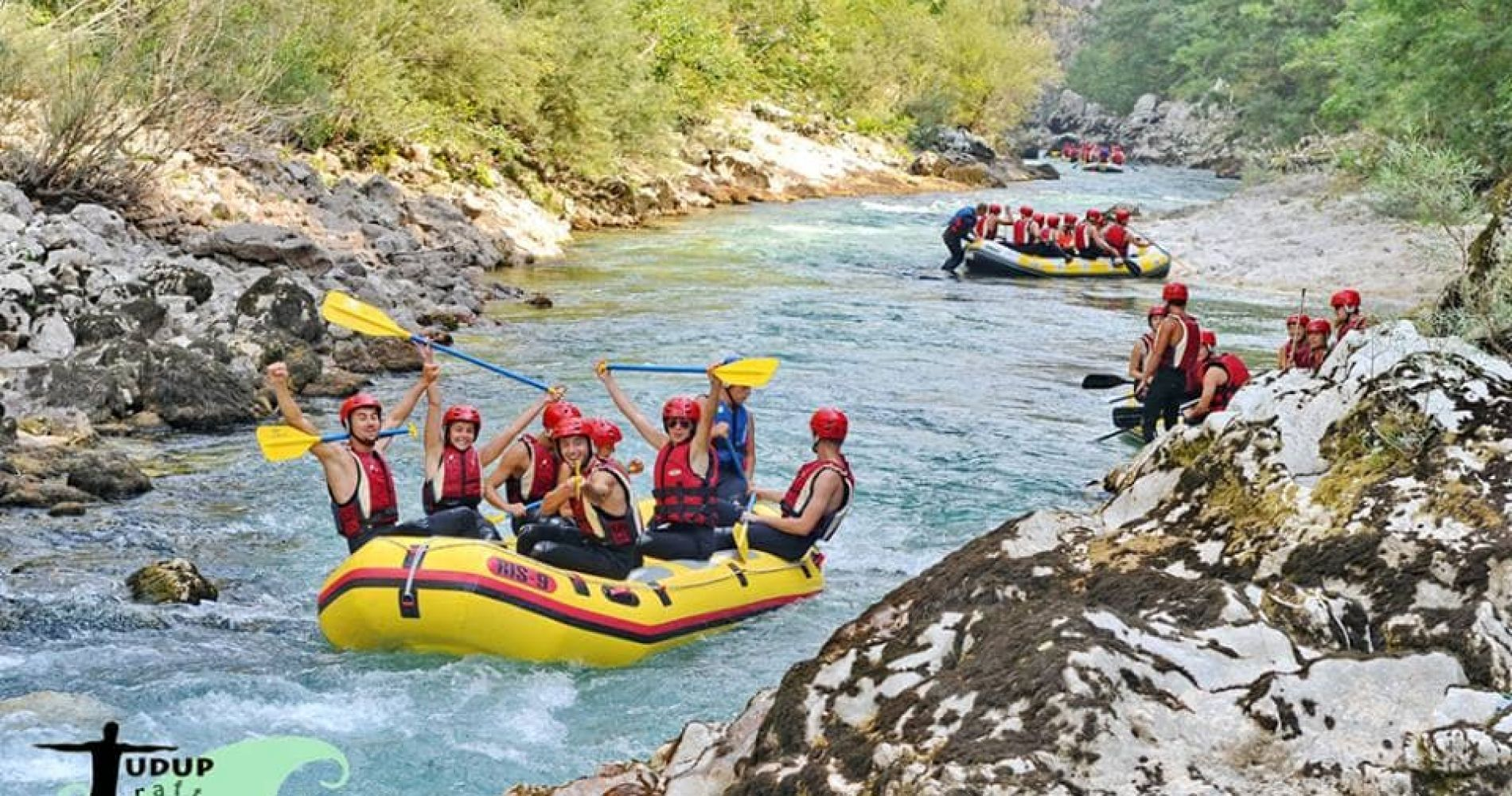 Rafting on the River Neretva for Two