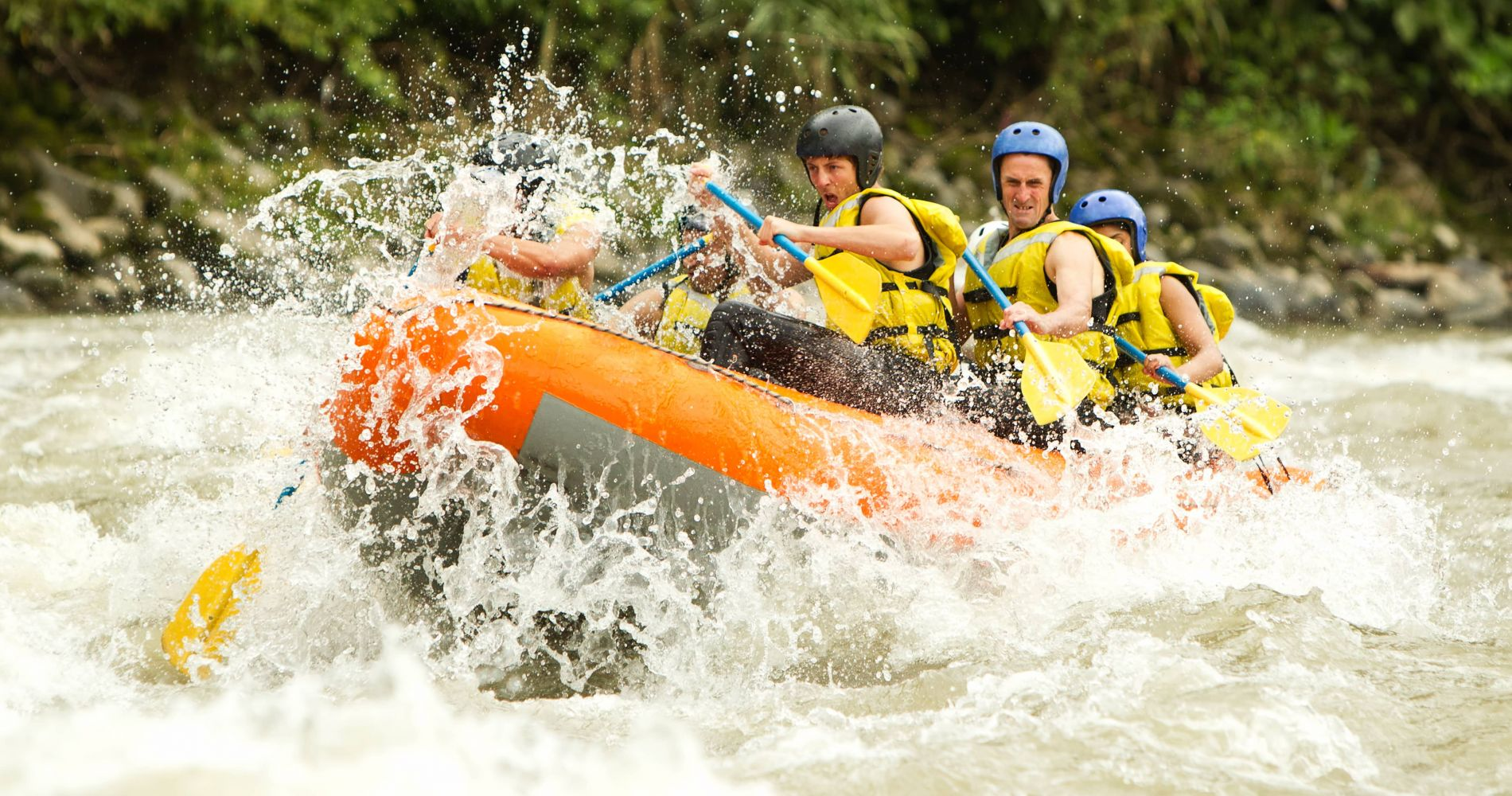River Rafting Experience ex Cairns for Two