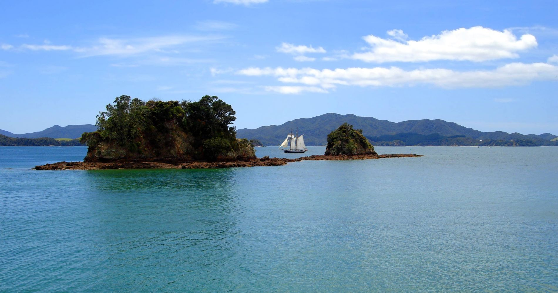 Full Day Tall Ship Sailing Adventure in Paihia for Two