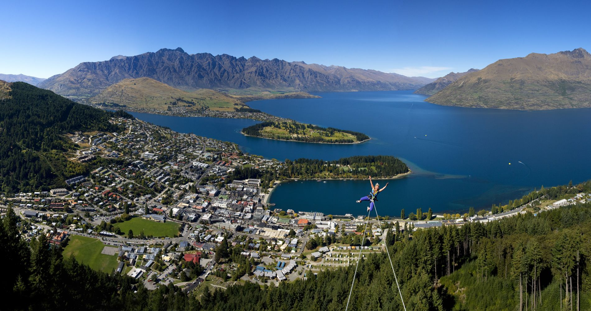 Queenstown Swing experience gift Tinggly