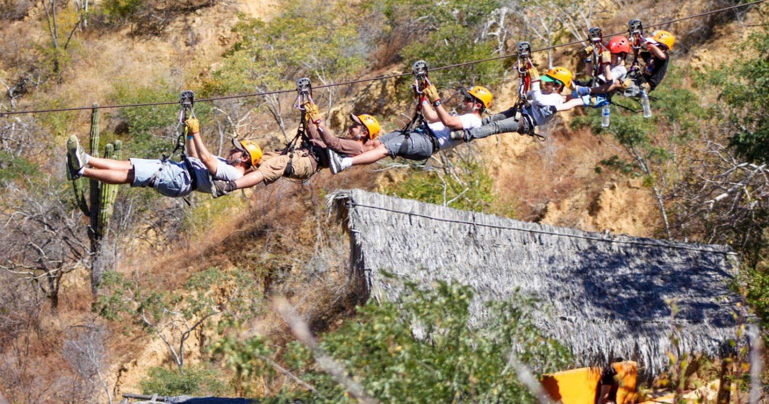 Tortuga Zipline Adventure Mexico Tinggly Experience Gifts