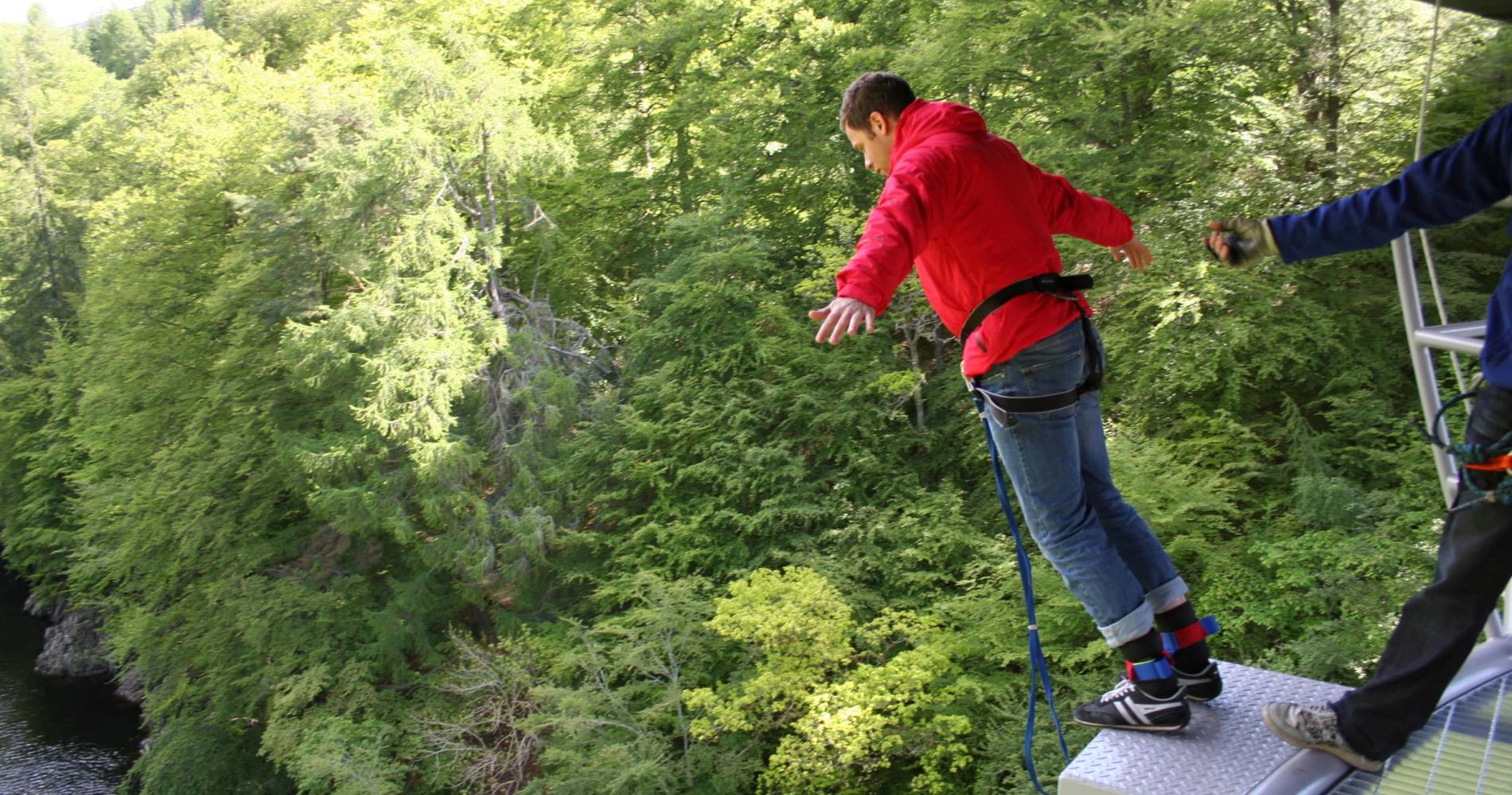 Day or Night Bungee Jumping in United Kingdom for Two