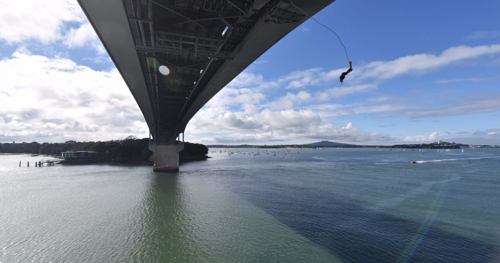 Thrilling Auckland Bridge Bungee Jump for Two
