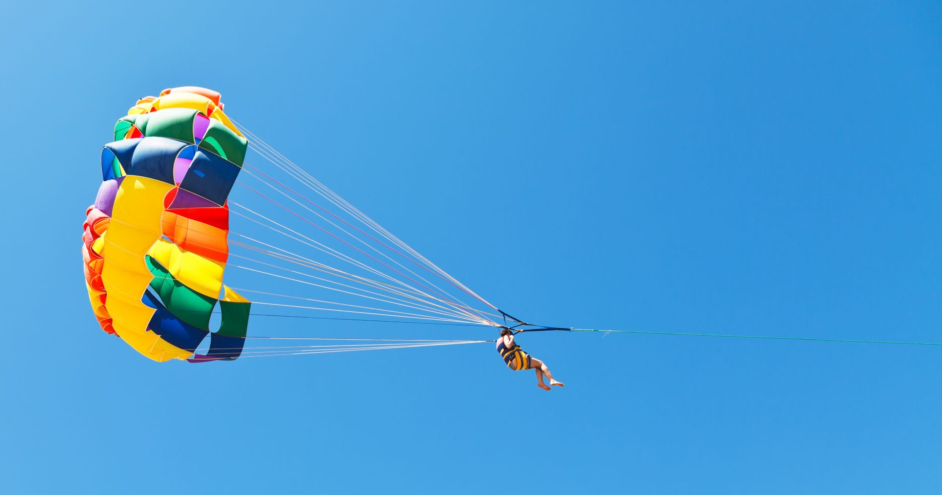 Parasailing over Lake Wanaka New Zealand Tinggly Experience Gifts