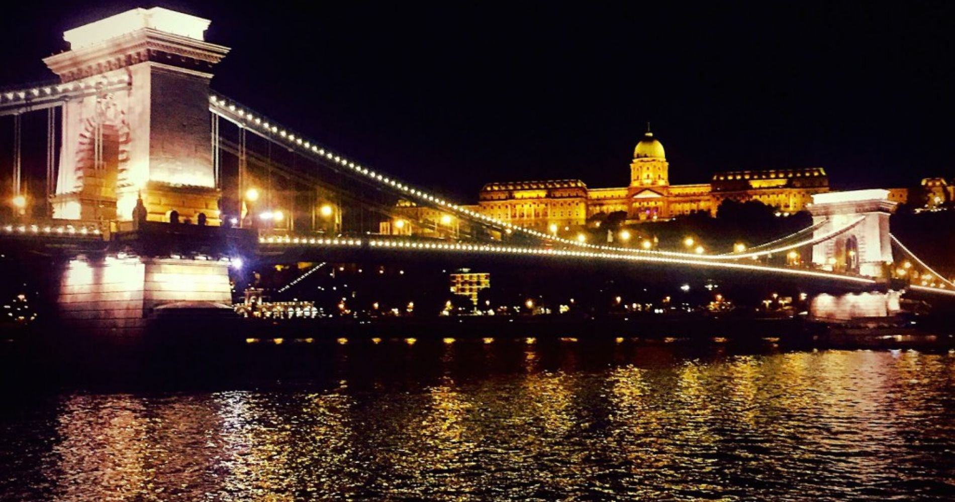 Budapest dinner cruise Tinggly Experience Gift Danube river