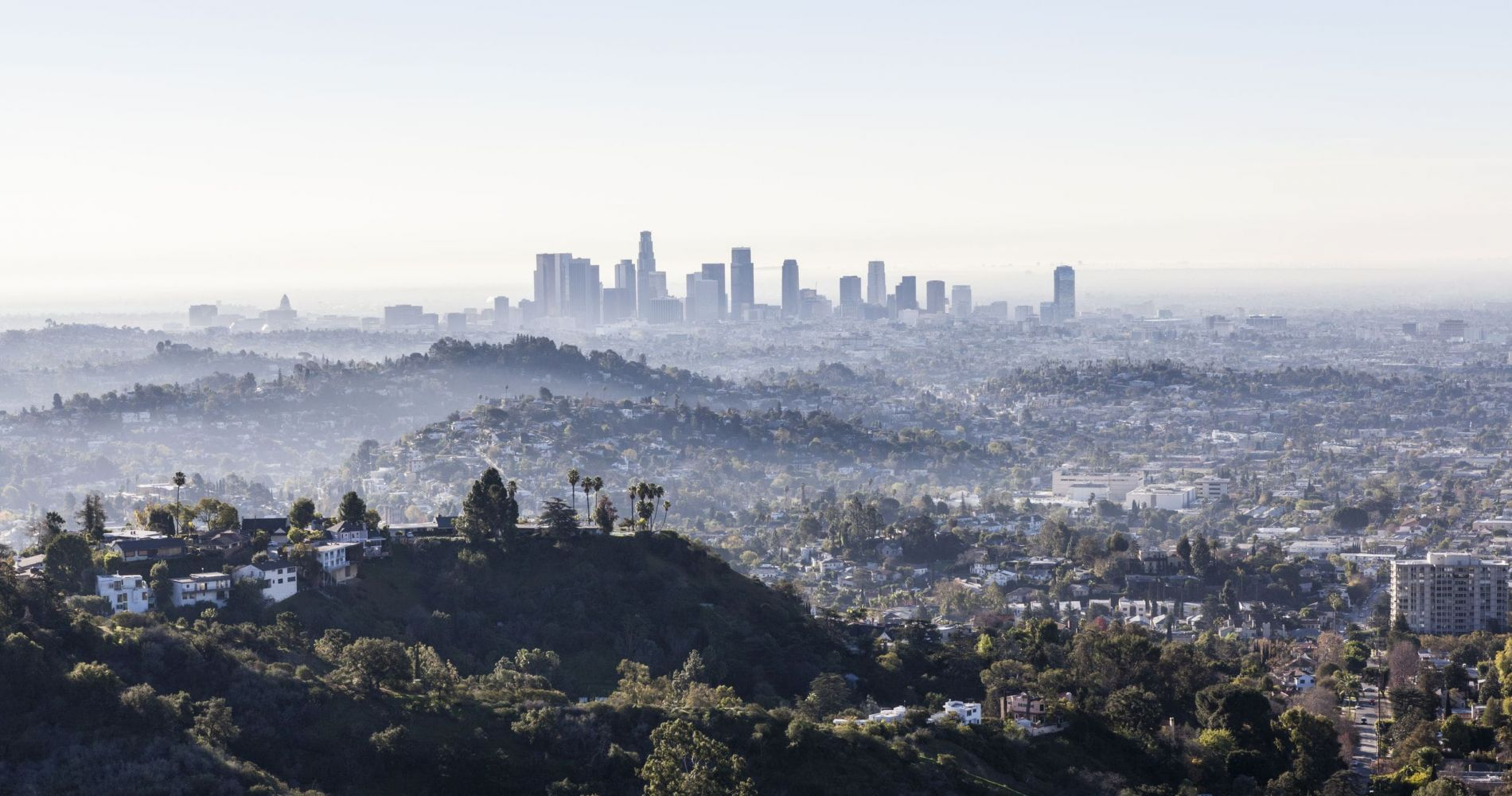 Sightseeing Flying Tour above Los Angeles for Two