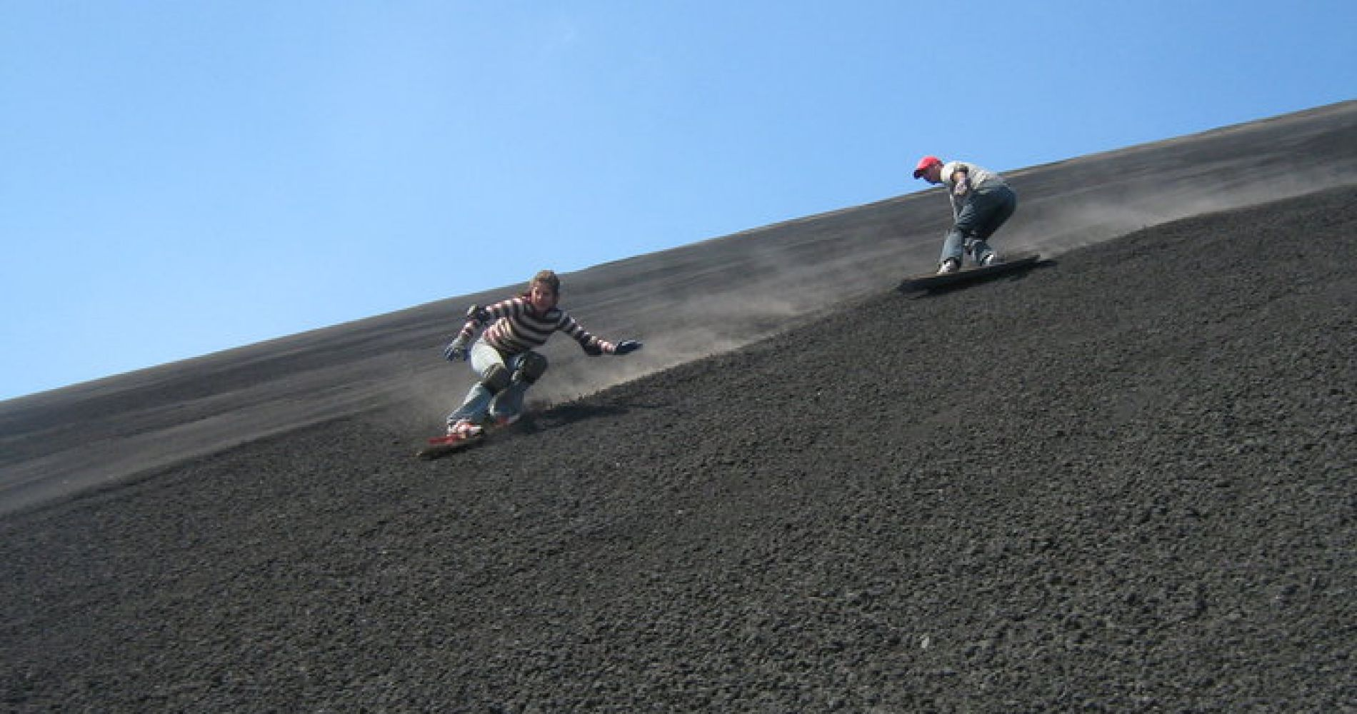 Volcano Boarding in Nicaragua for Two