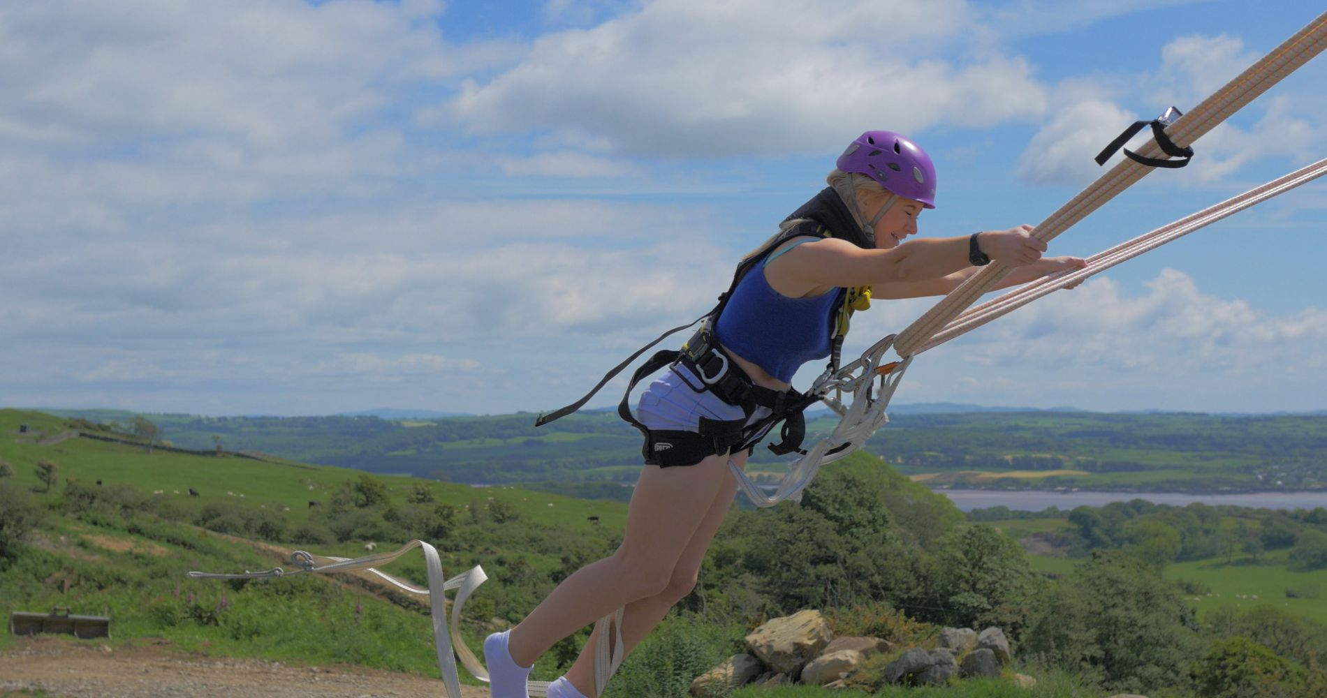 Worlds Only Human Slingshot Experience Scotland Tinggly Gifts