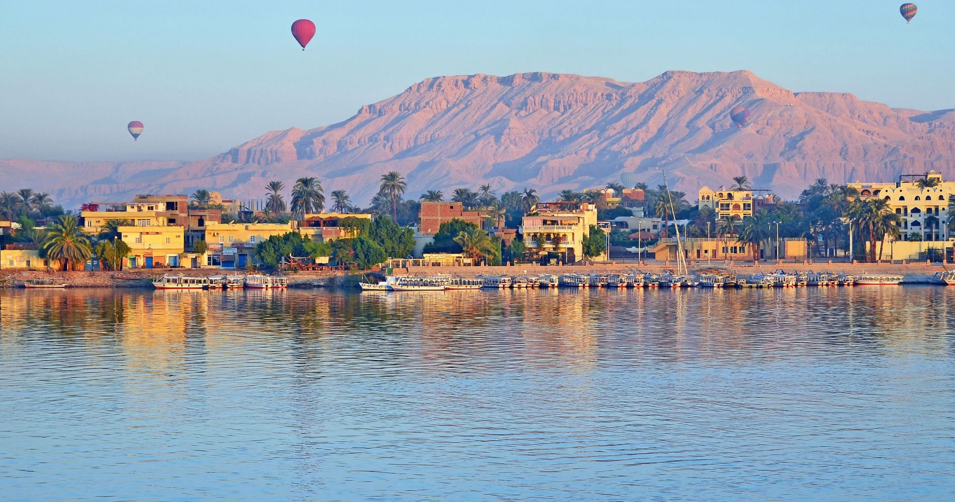 Luxor Hot Air Balloon Ride at Sunrise for Two
