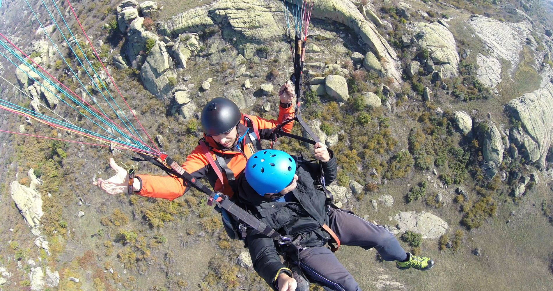 Paragliding Adventure Georgia Tinggly Experience Gifts