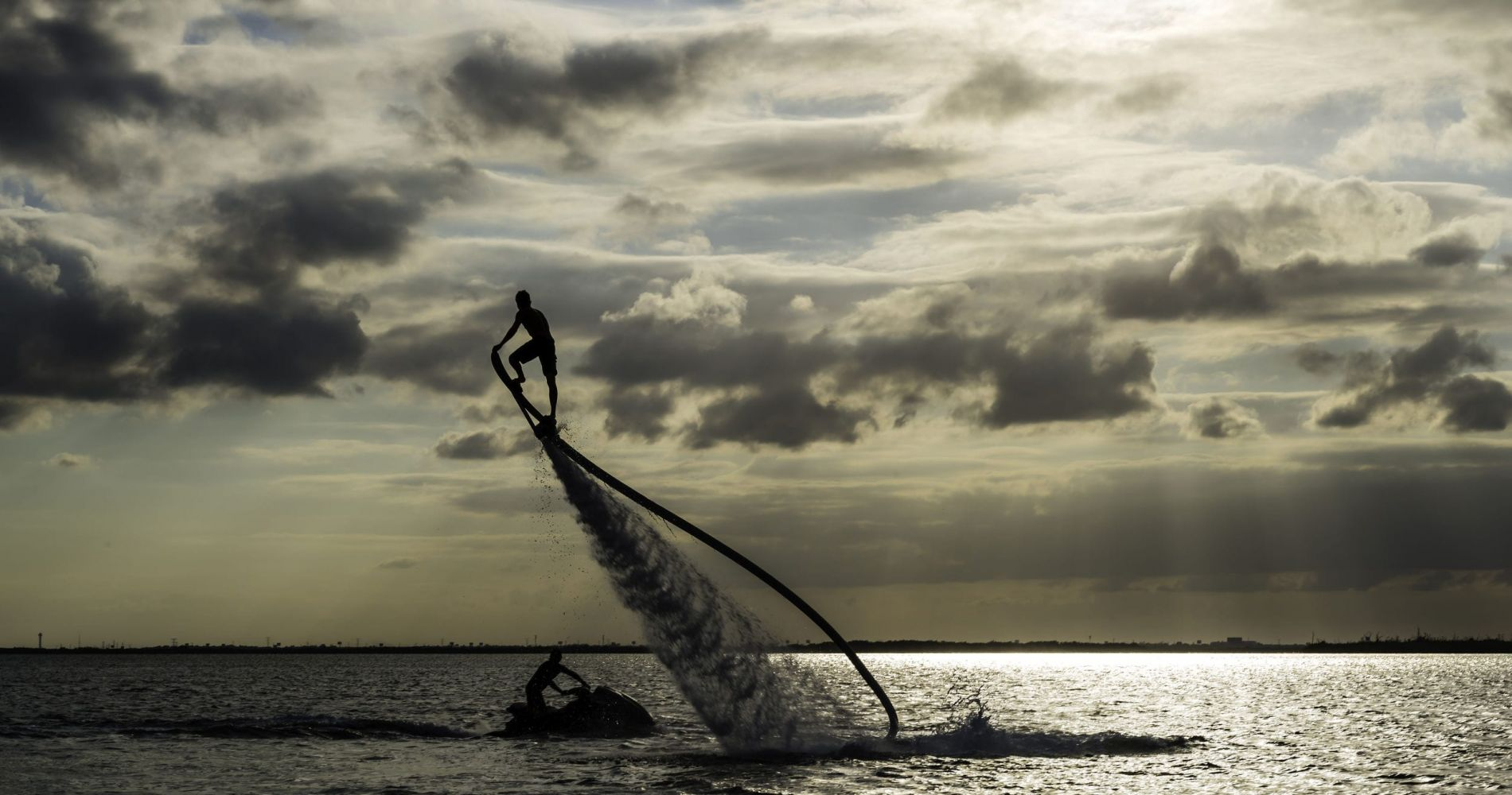 Bayside Flyboard Experience 30 min in Miami for Two