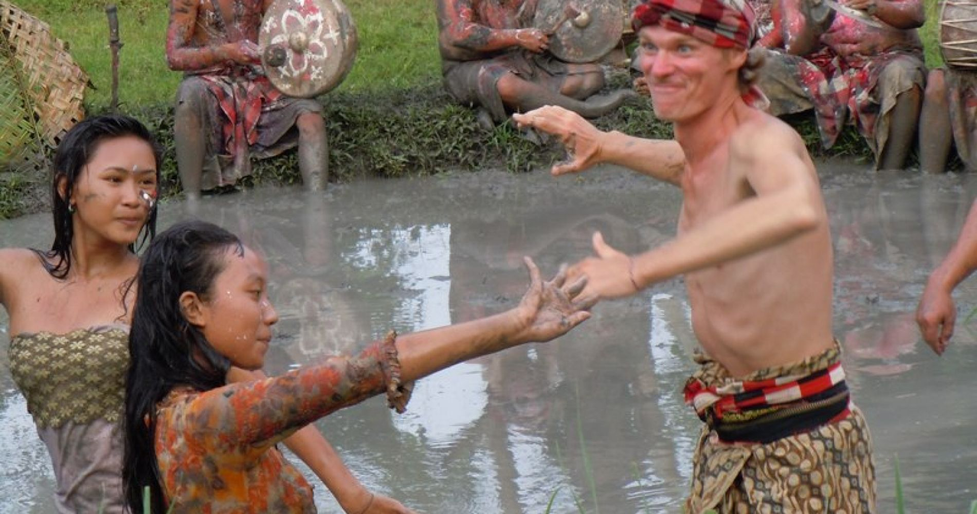 Traditional Balinese Mud Games Tinggli Experience Gifts