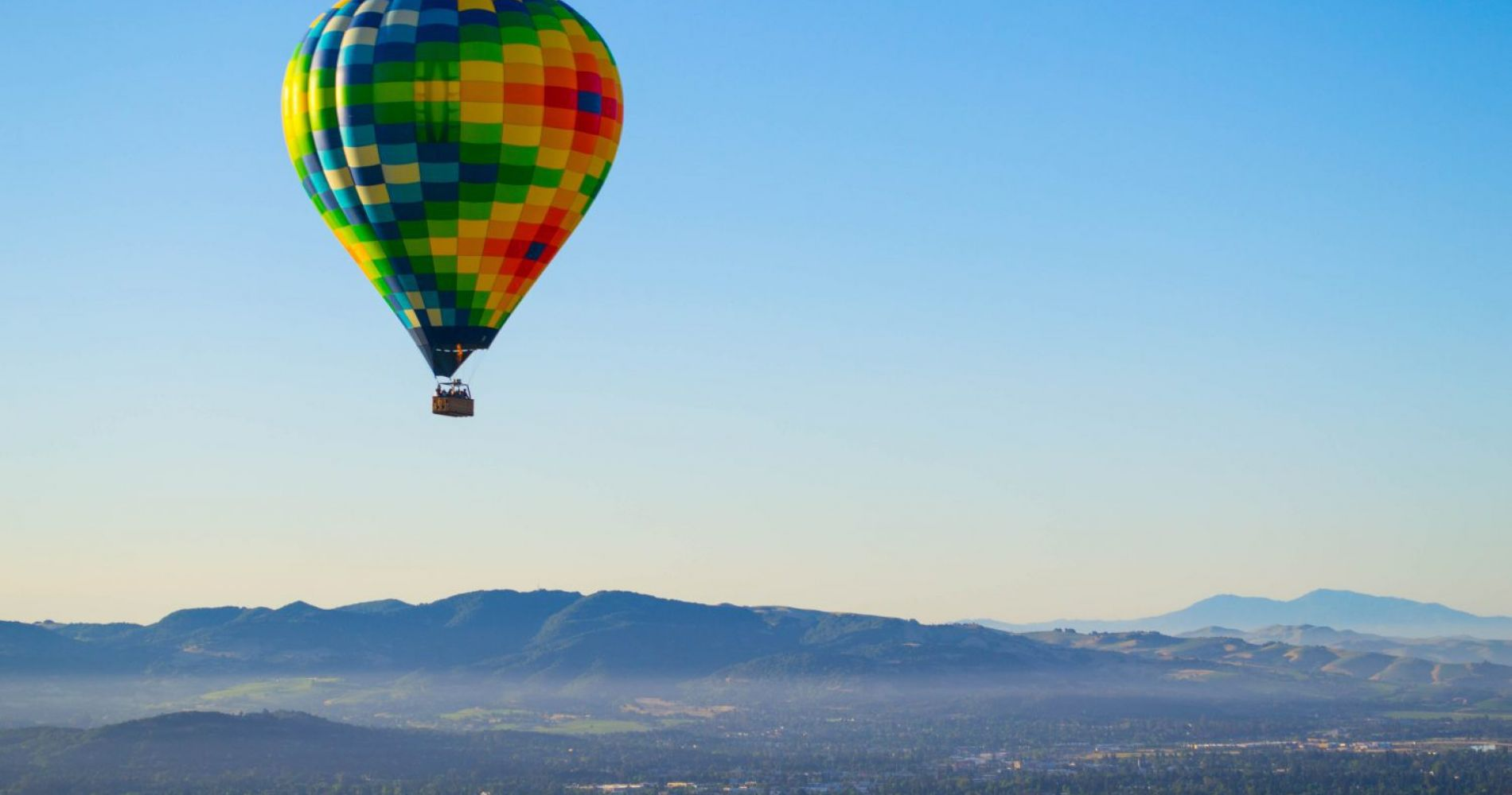 Amazing Hot Air Balloon Ride Napa Valley