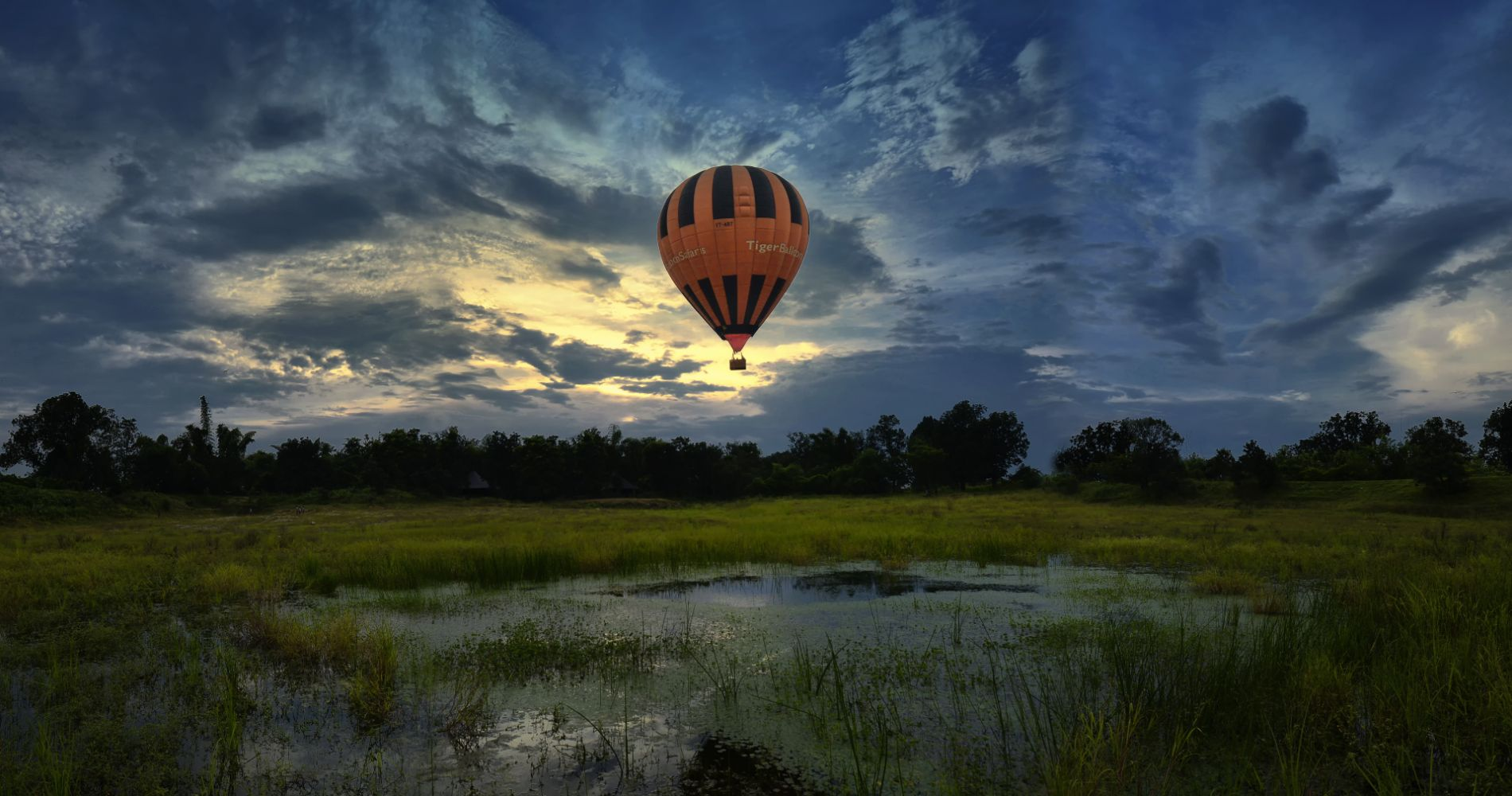 Fascinating Hot Air Balloon Flight Goa Tinggly Experience Gifts