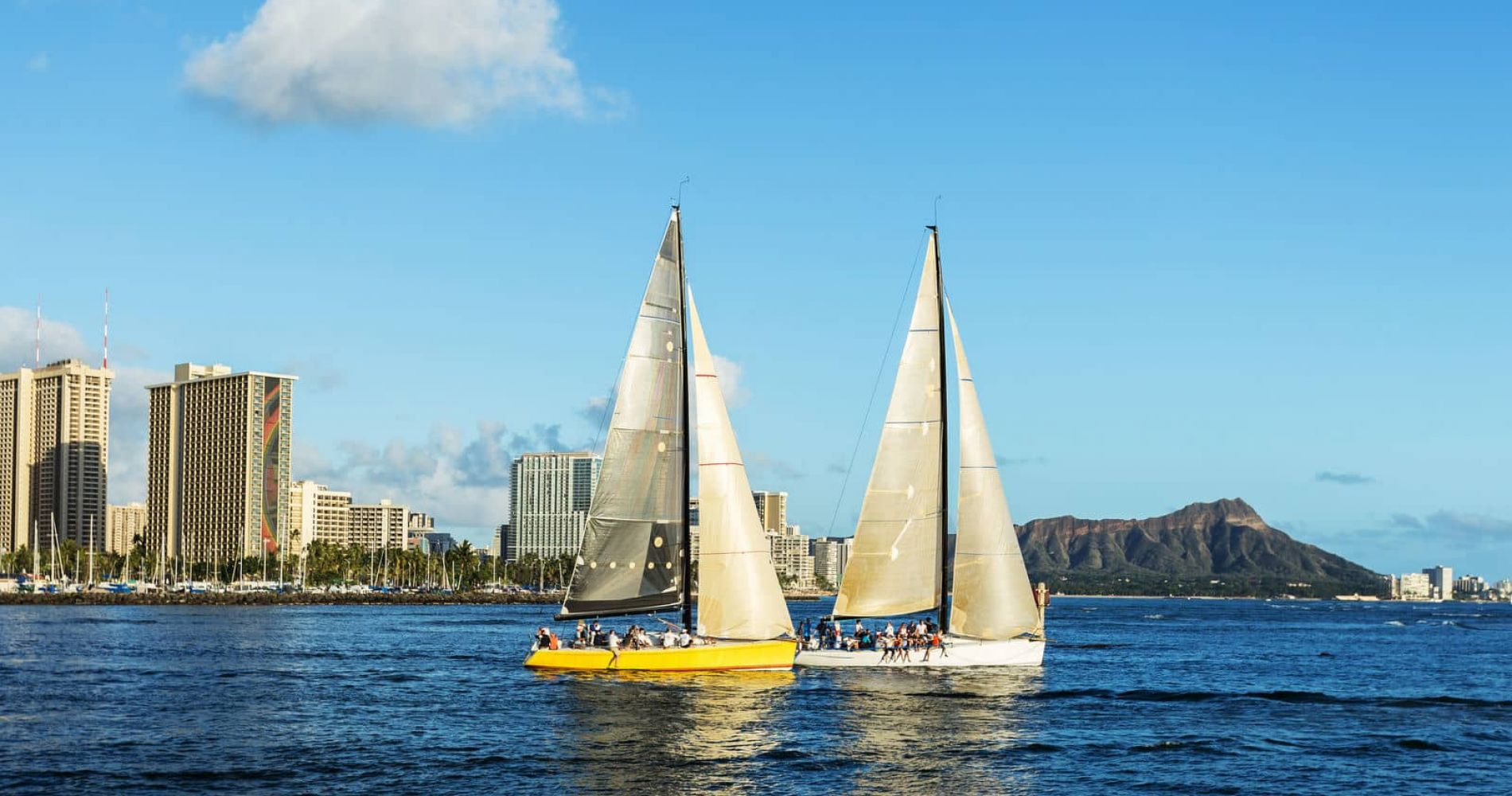 Sunset Sailing in Honolulu for Two