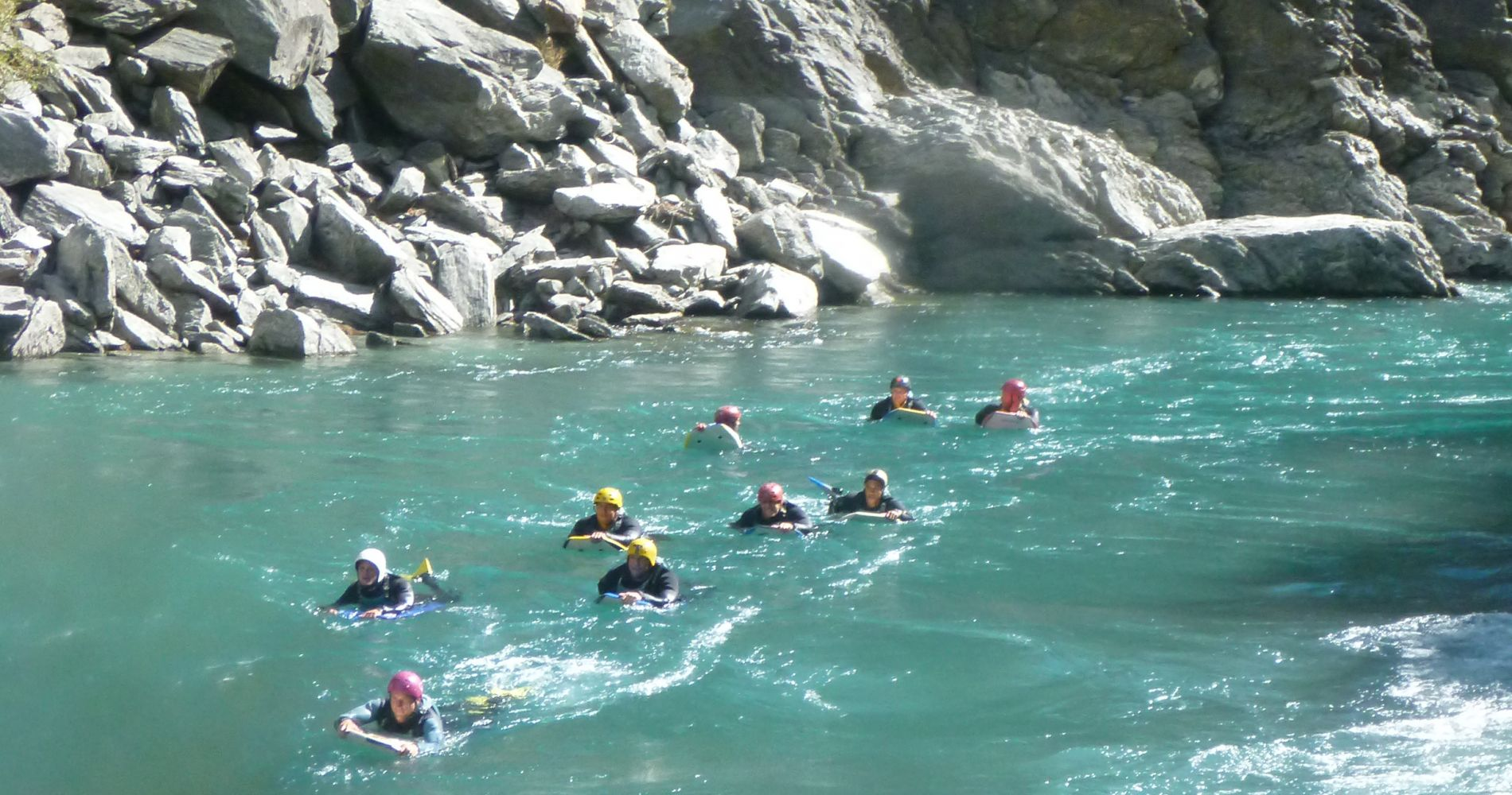 Exhilarating River Boarding New Zealand Tinggly Experience Gifts
