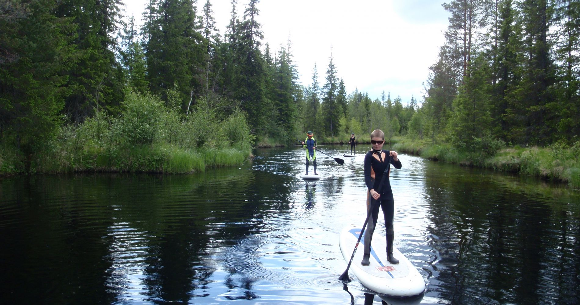 Stand Up Paddle Boarding in Sweden Tinggly Experience Gifts