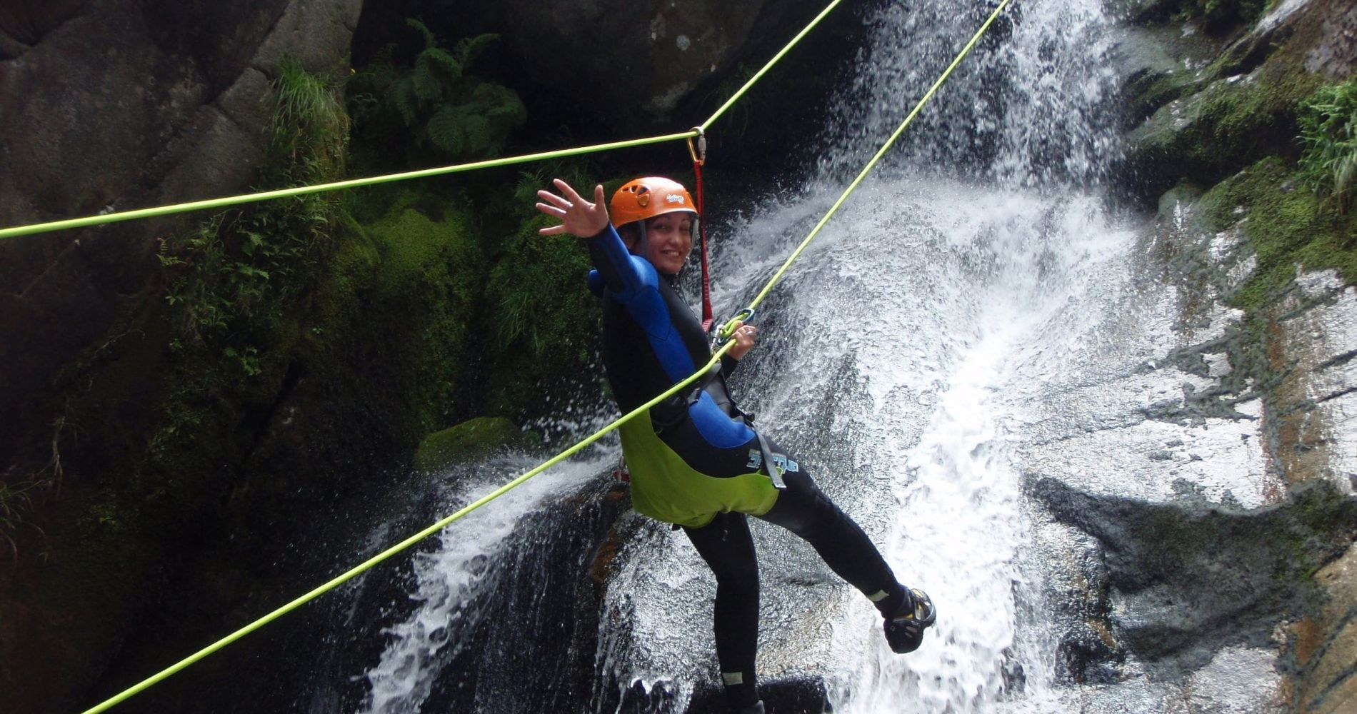 Adventure Canyoning in Portugal