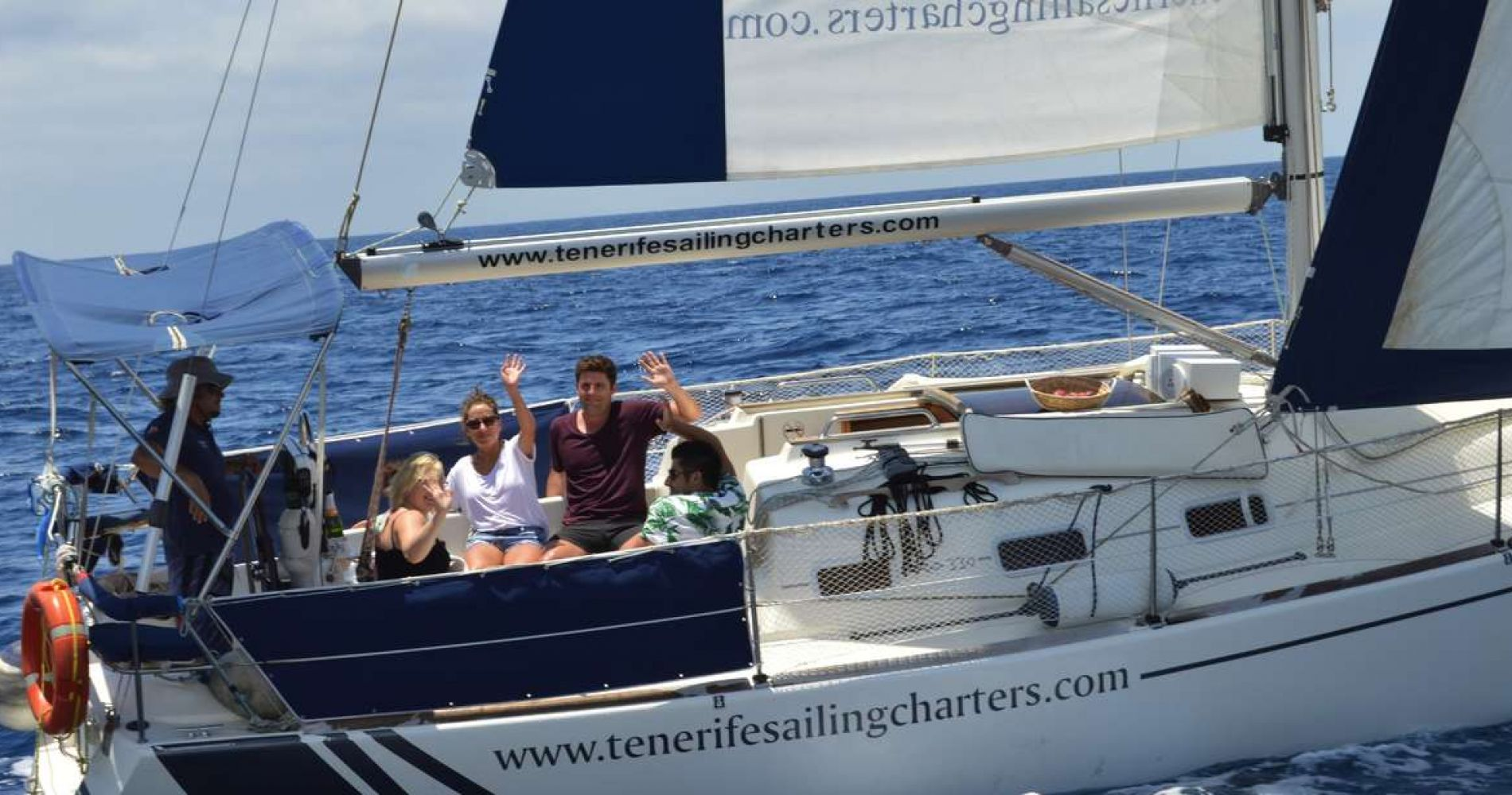 Luxurious Yacht Cruise with Whale and Dolphin Watching in Tenerife for Two