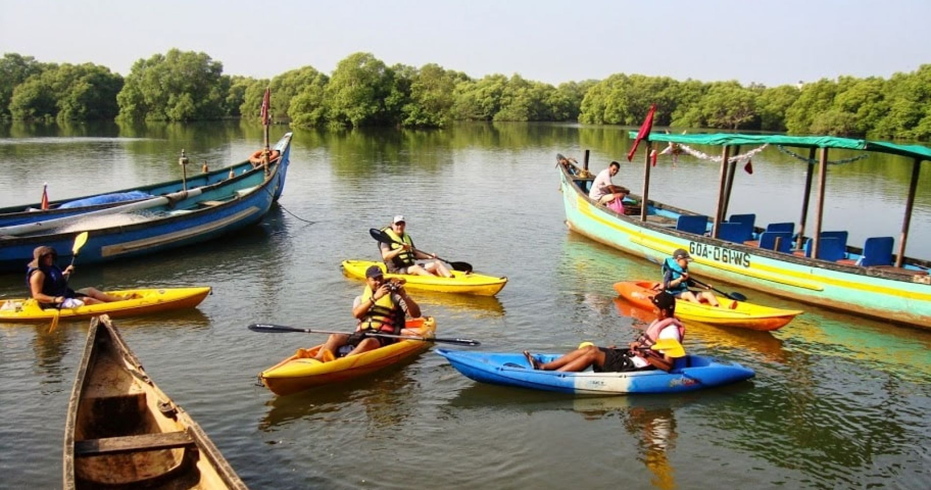 Kayaking Tour in the Sal Backwaters for Two
