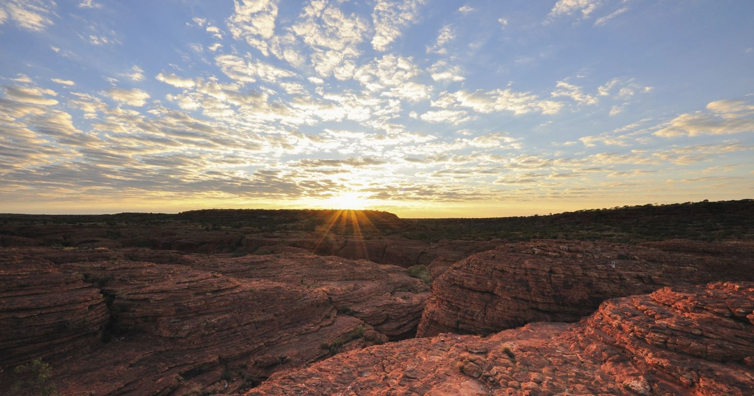 Uluru Sunrise Guided Cultural Walk Tinggly Experience Gift