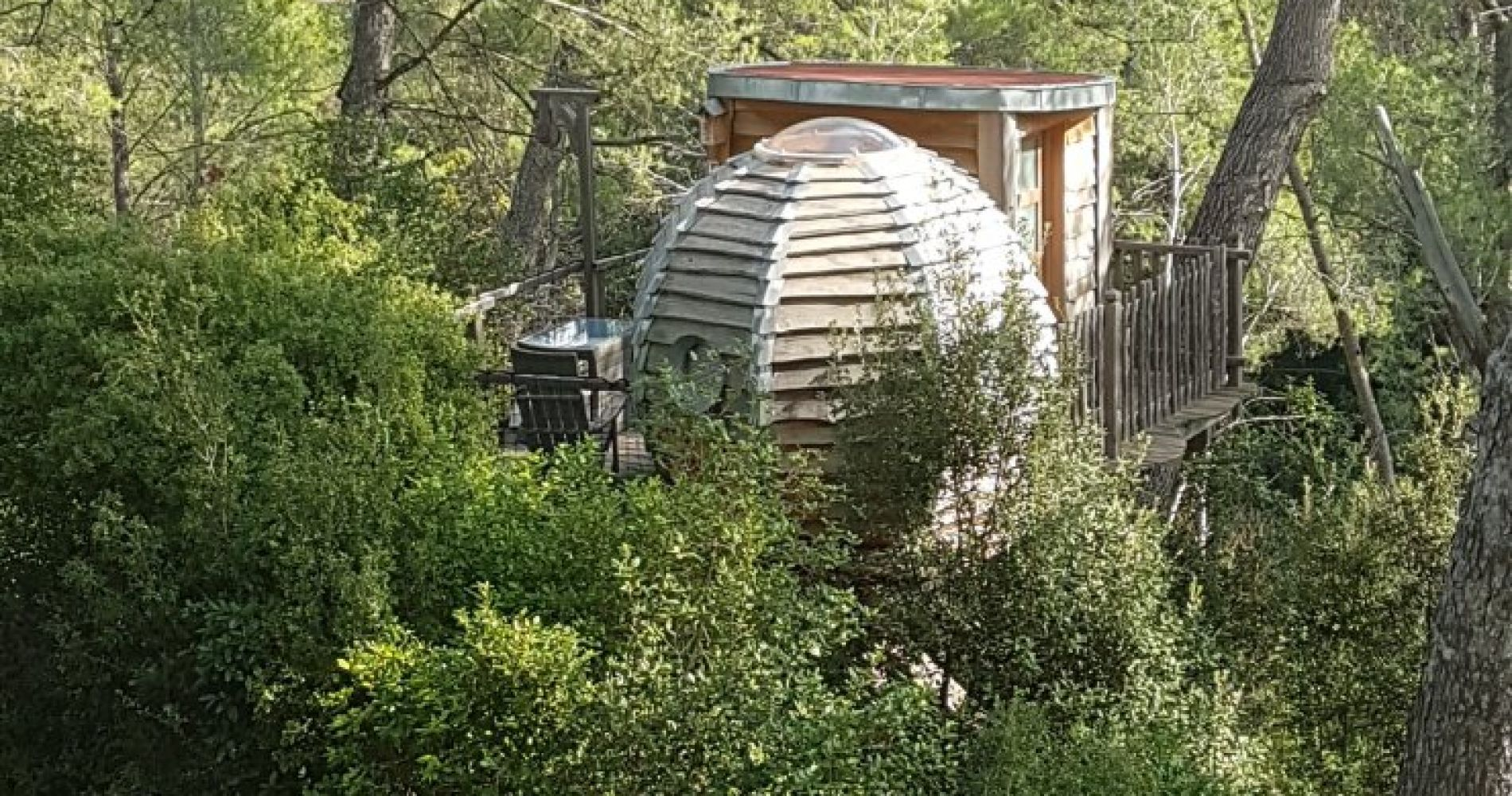 One Night Stay in Unique Bubble Hotel in France for Two