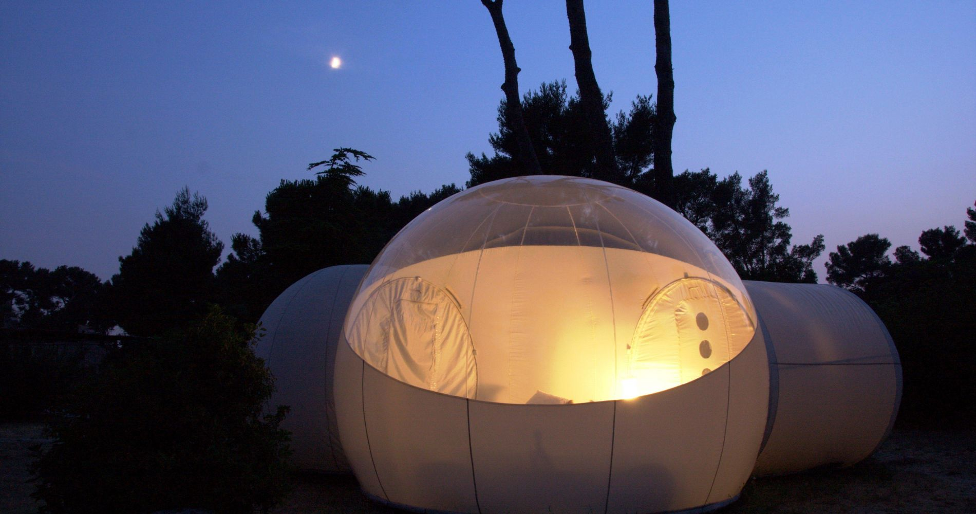 One Night Stay Unique Bubble Hotel France Tinggly Experience Gift