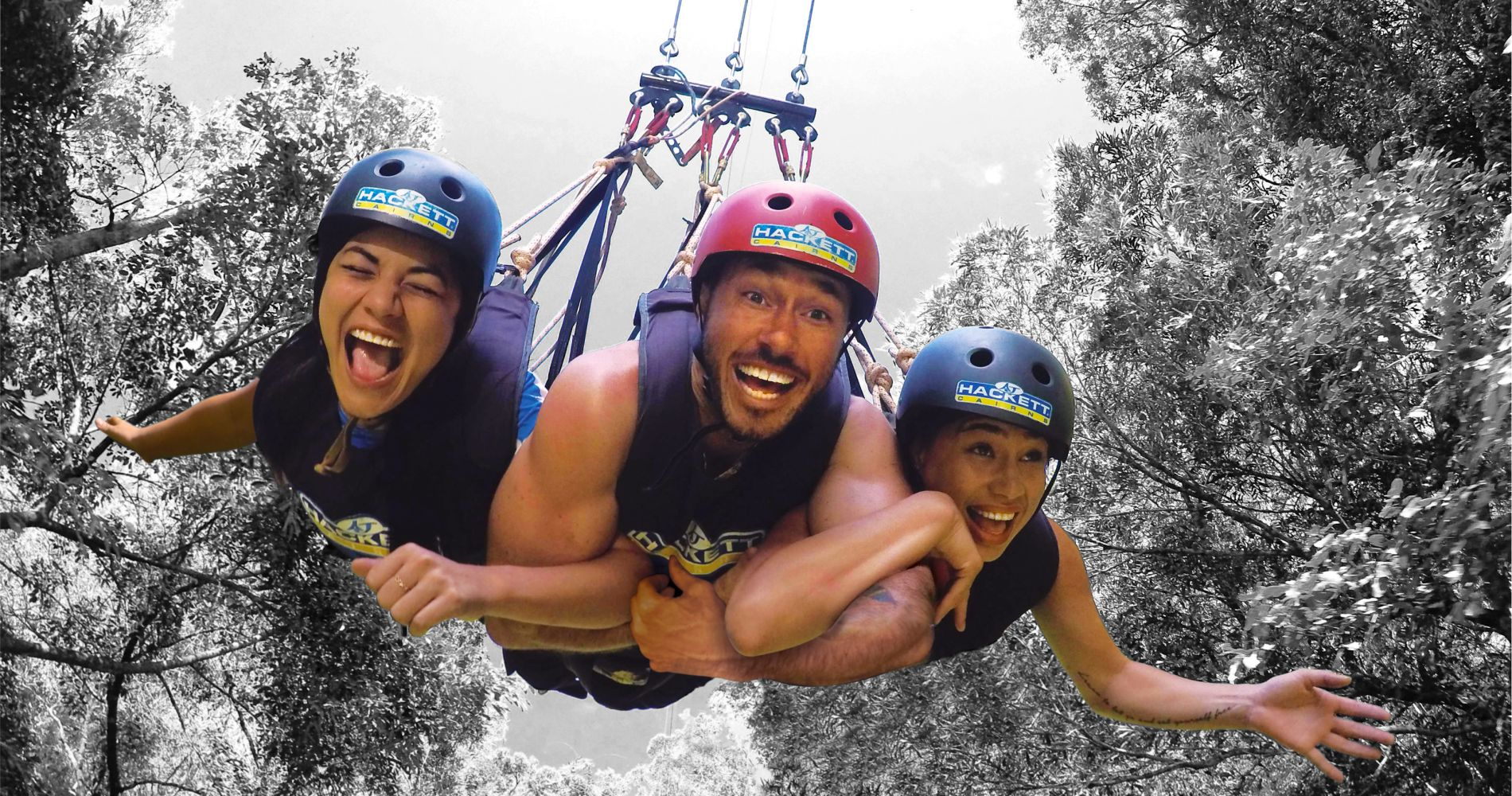 Australia jungle swing Queenstown Tinggly Gift experiences
