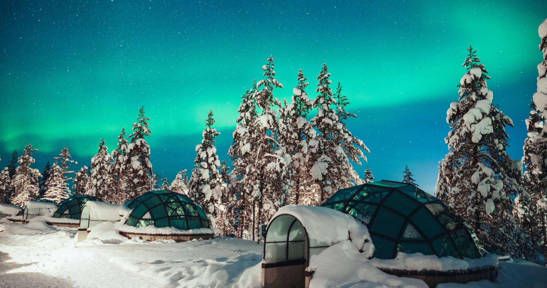 Two Night Stay Finland's Glass Igloos Tinggly Experience Gift