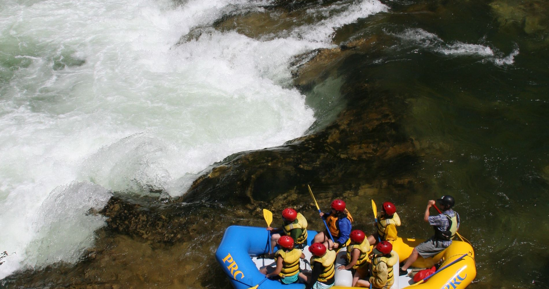 Full Day Thrilling White Water Rafting Idaho Tinggly Experience Gift