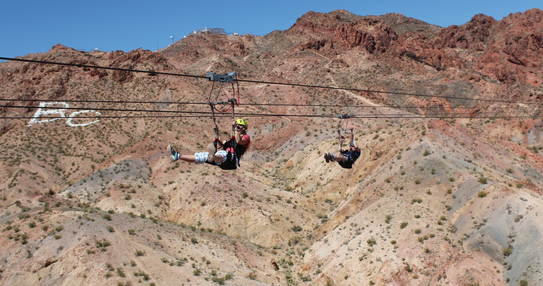 Zipline Flight over Desert Nevada Tinggly Experience Gift