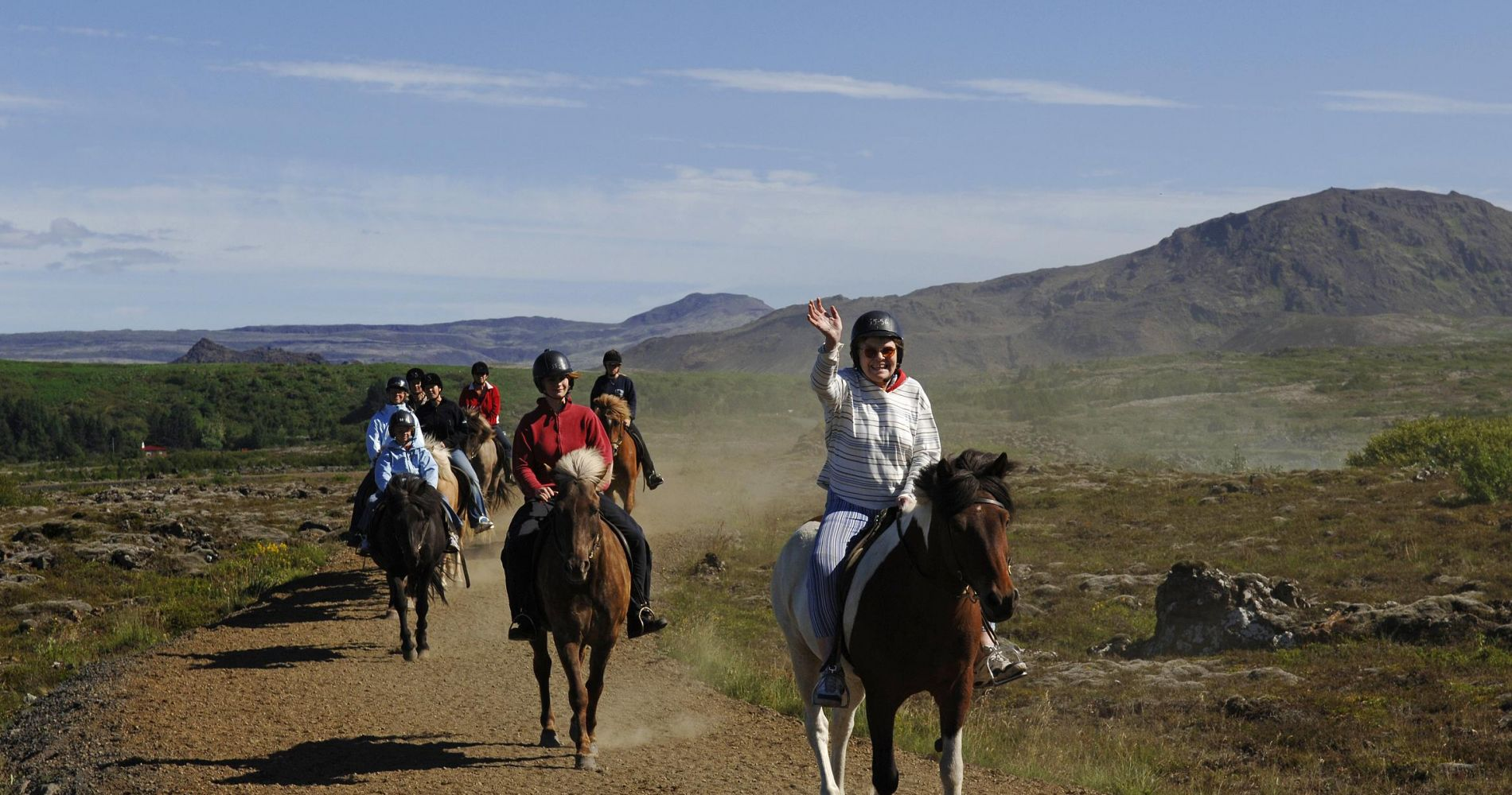 Volcanic horse-riding and off-road ATV ride Iceland Tinggly Experience Gift