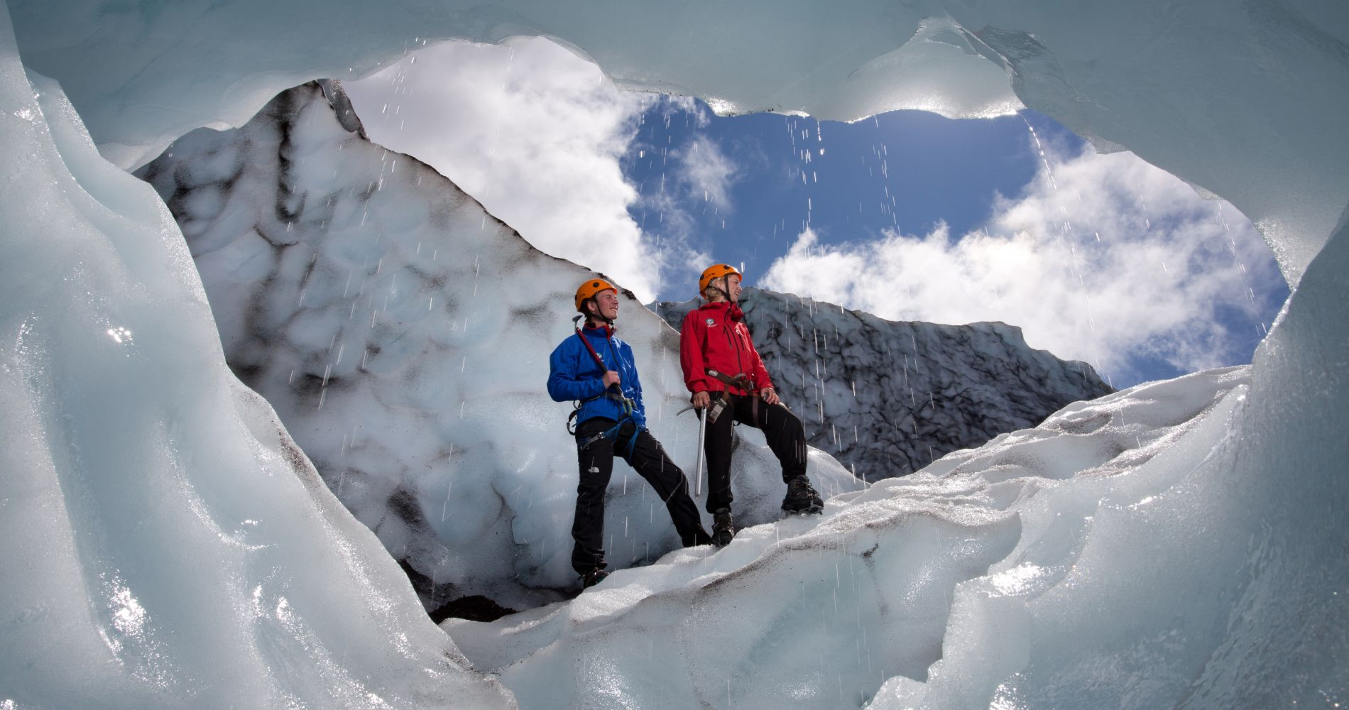 Guided Hiking Tour Vatnajökull Glacier Iceland Tinggly Experience Gift