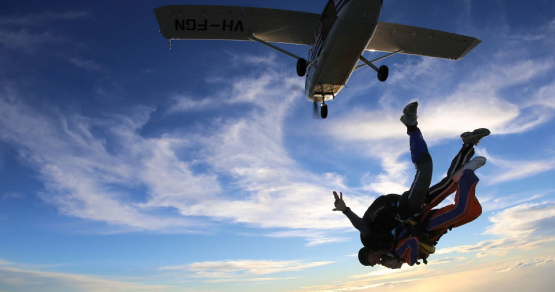 Perth tandem skydiving experience gifts