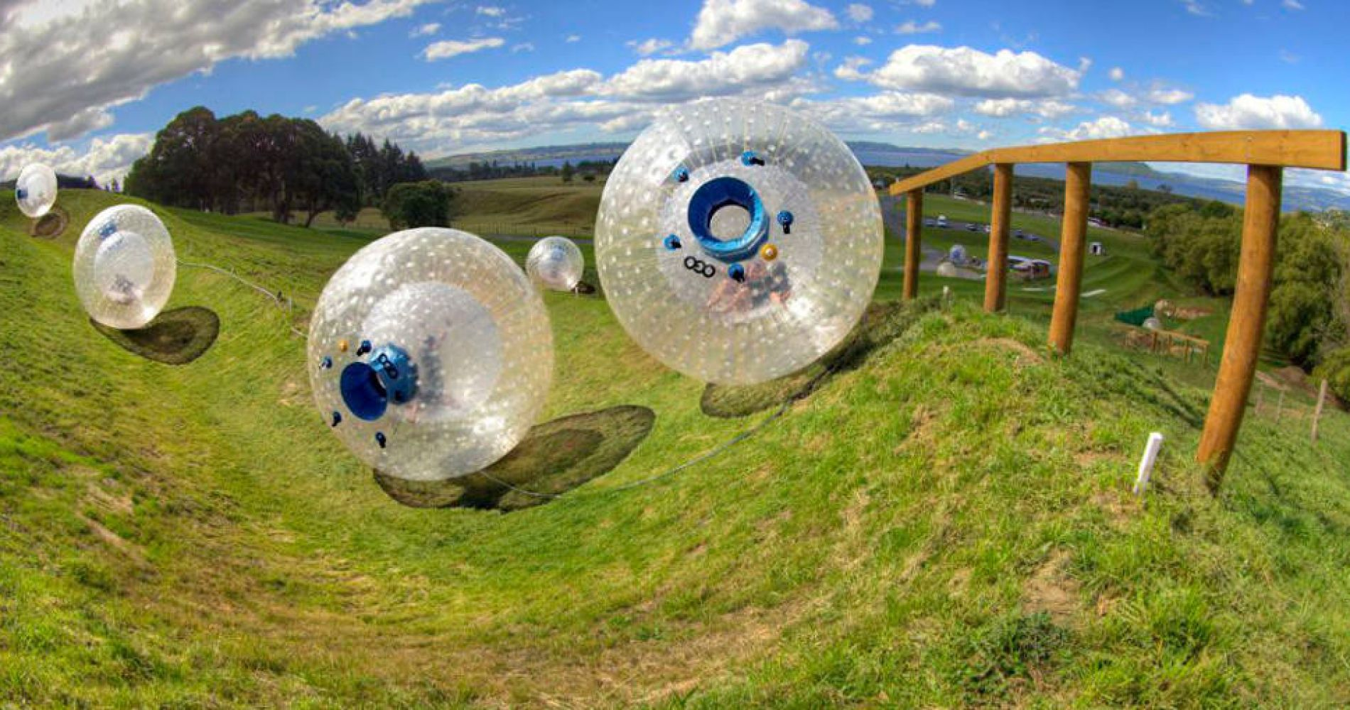 Zorbing New Zealand Experience Gifts