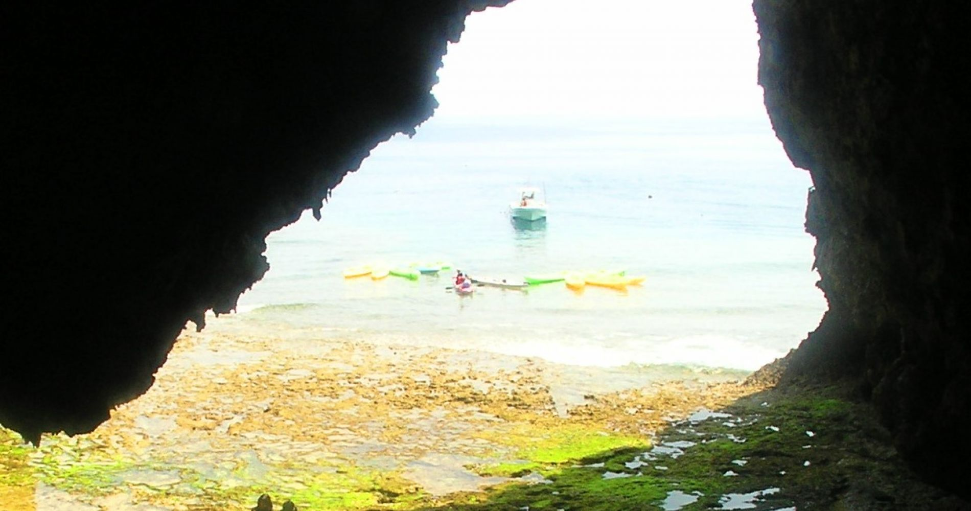 Kayak and Snorkeling Adventure in Blue Cave, Okinawa