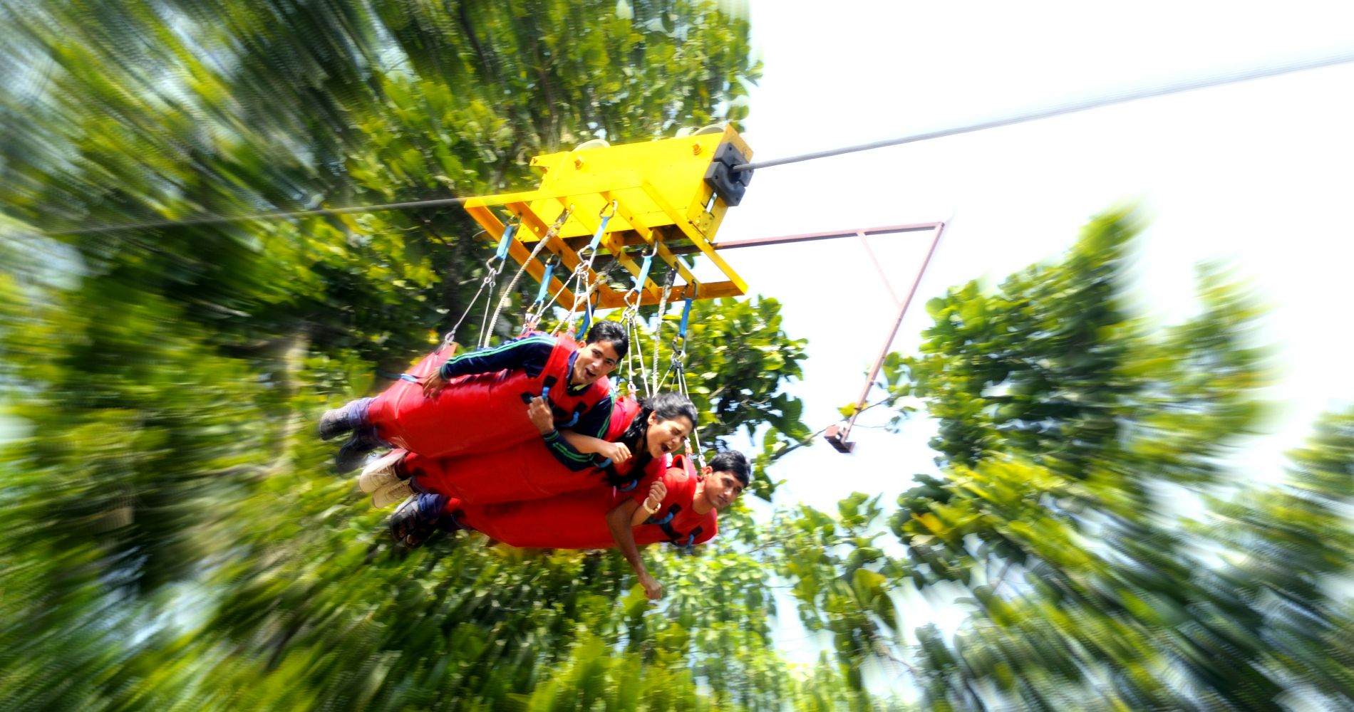 India's highest giant swing experience