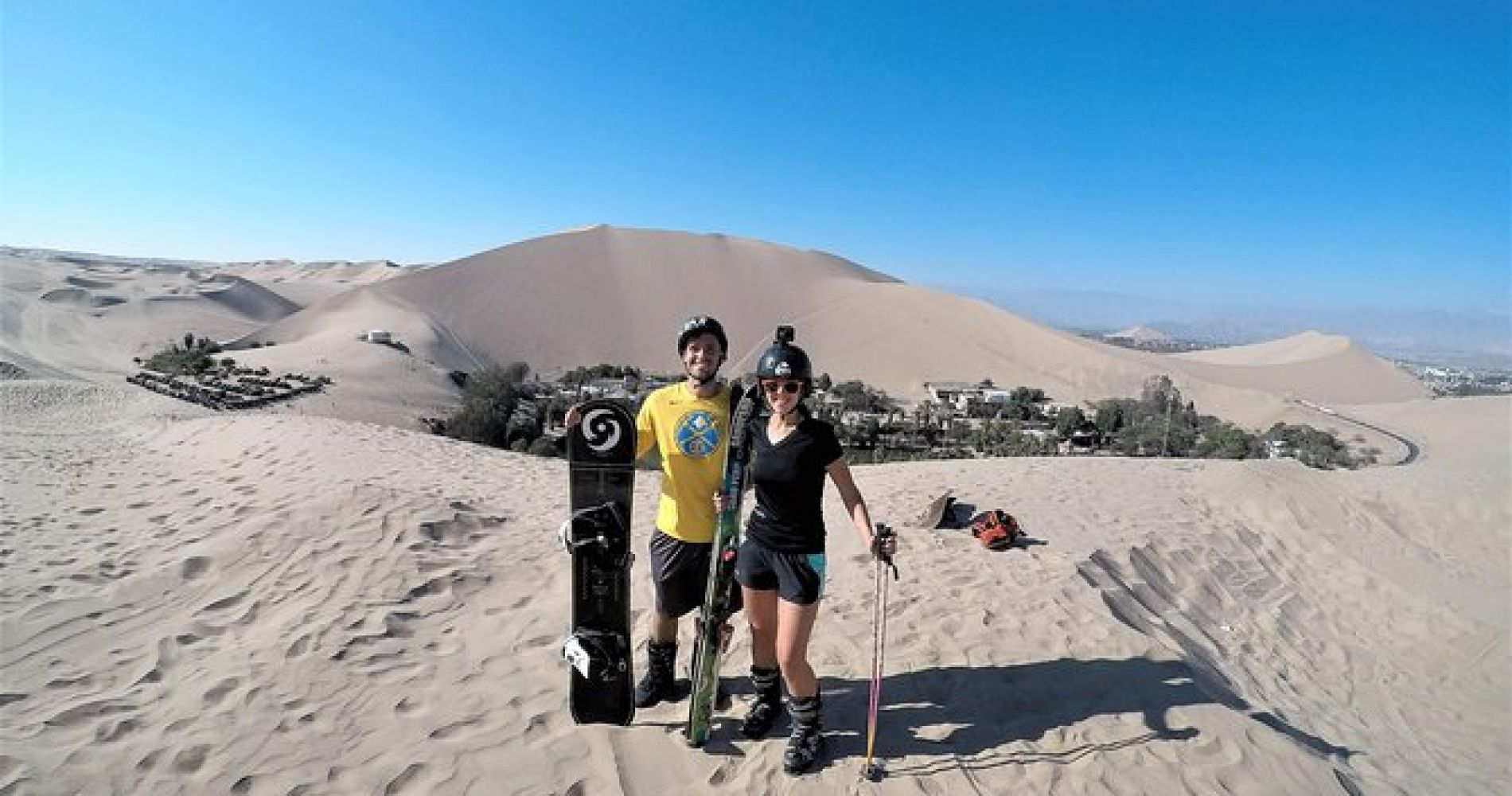 Sandboarding in Huacachina for Two in Peru
