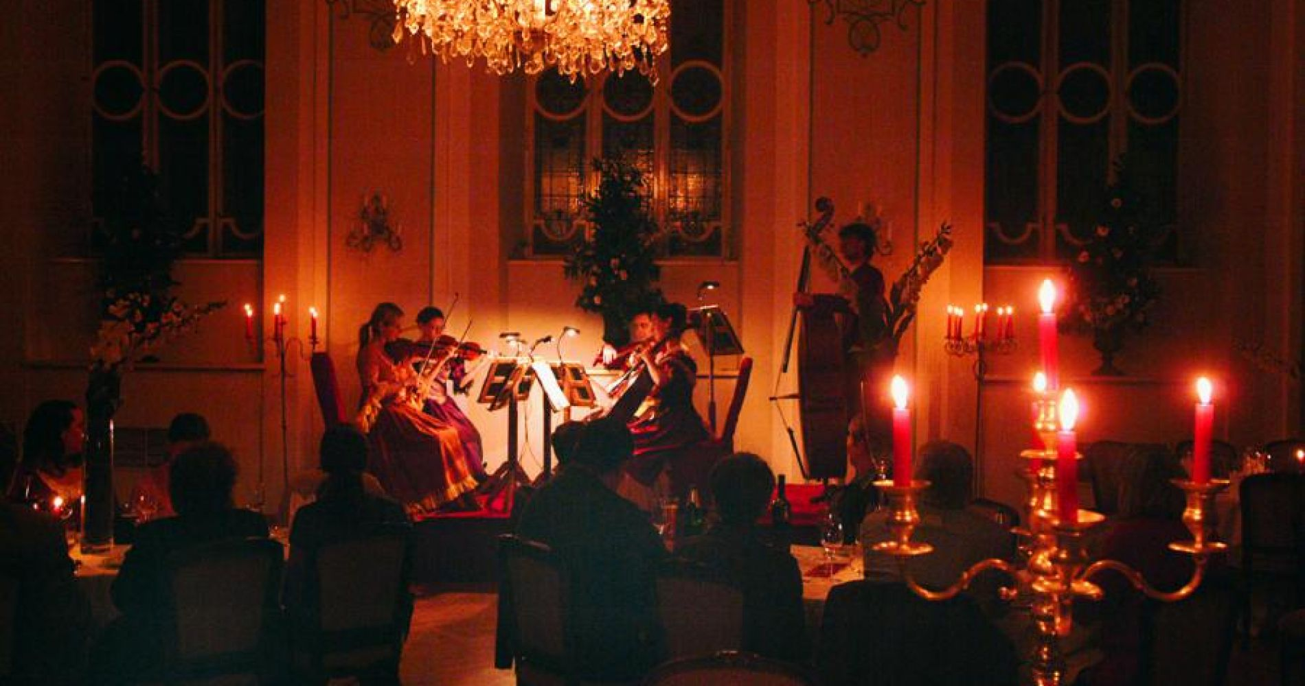 Mozart Dinner Concert at Stiftskeller in Salzburg for Two