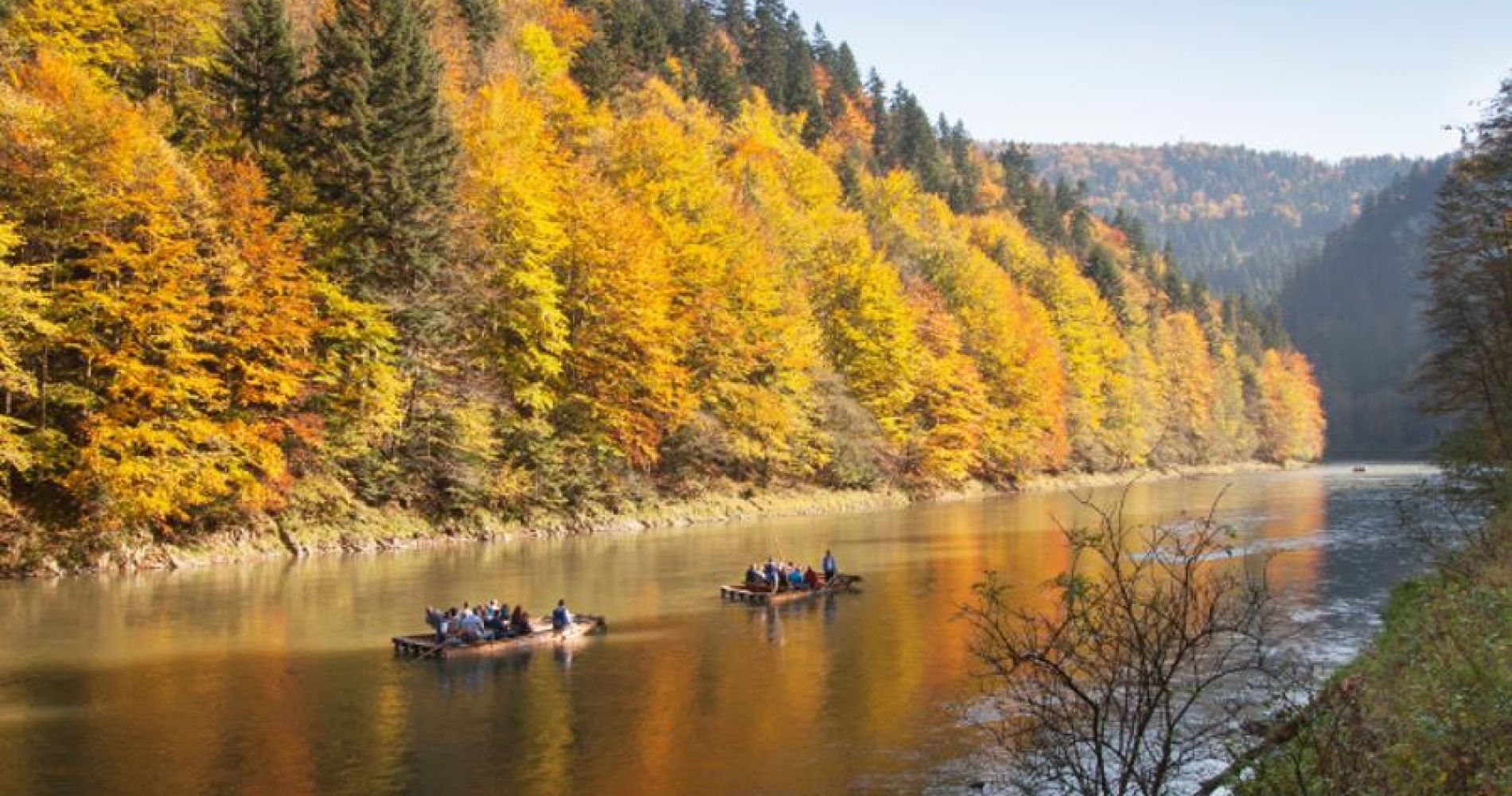 Raft Trip on Dunajec River and Pieniny National Park for Two
