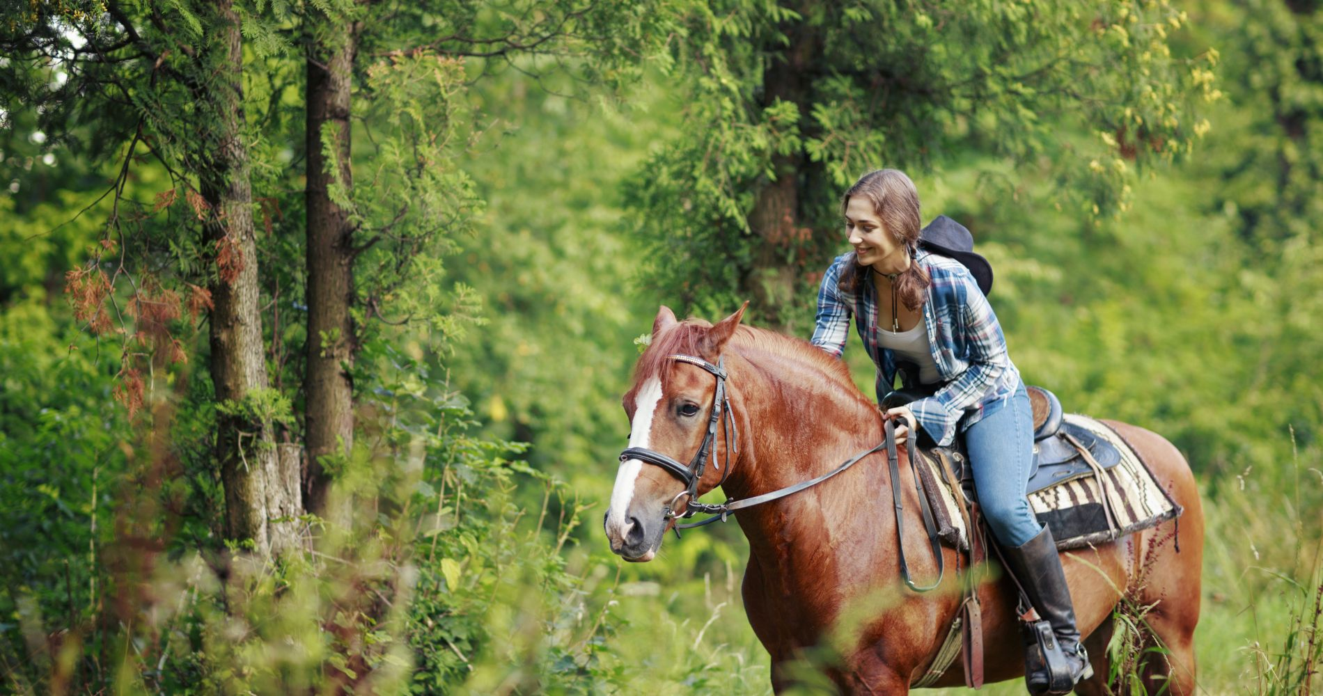 Horseback Riding outside of Houston for Two
