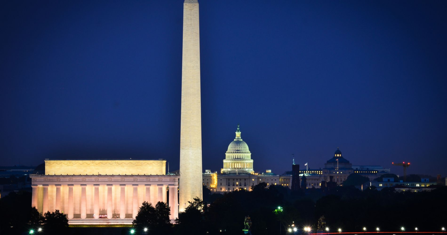 Washington Monuments by Night Experience Gift